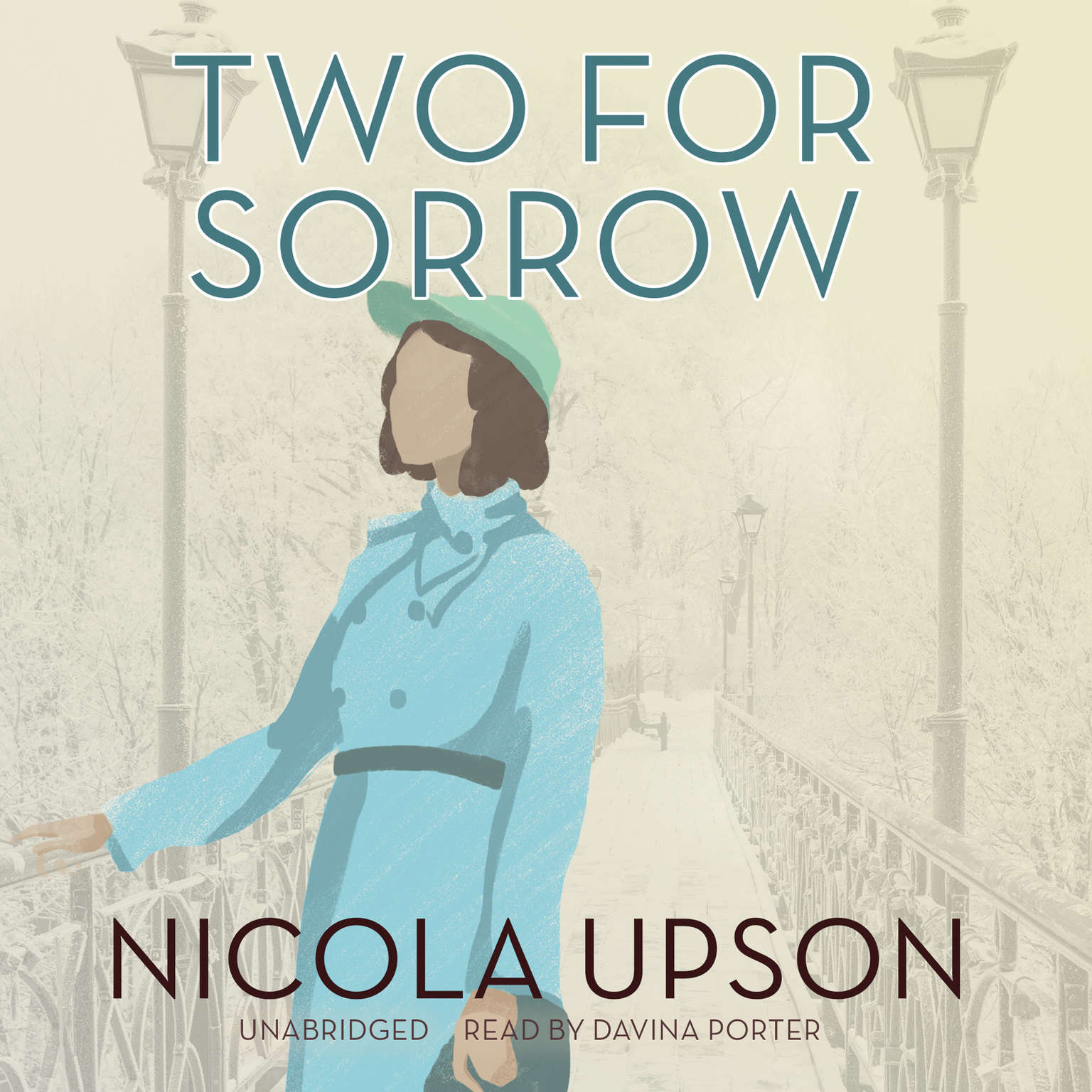 Printable Two for Sorrow Audiobook Cover Art