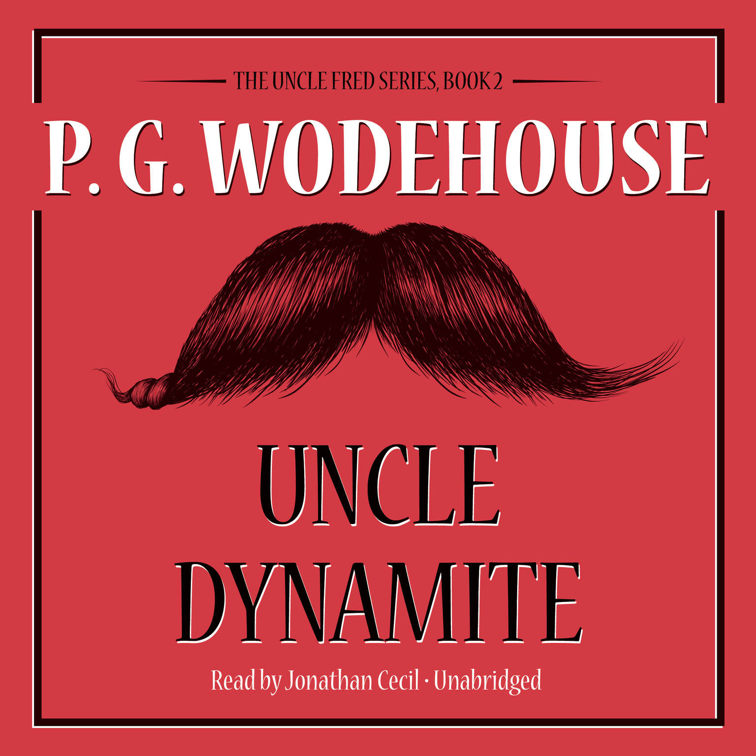 Printable Uncle Dynamite Audiobook Cover Art