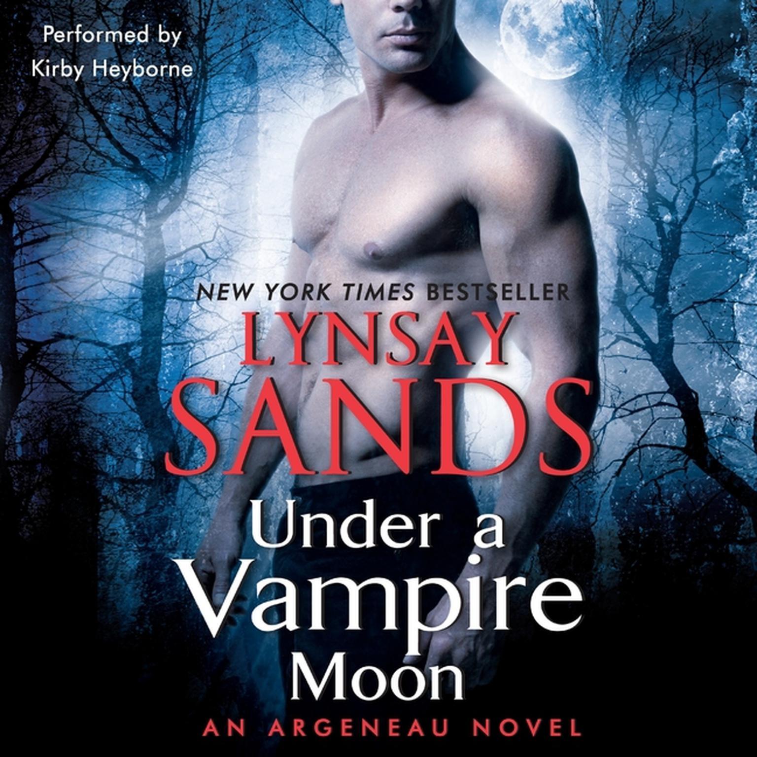 Printable Under a Vampire Moon: An Argeneau Novel Audiobook Cover Art