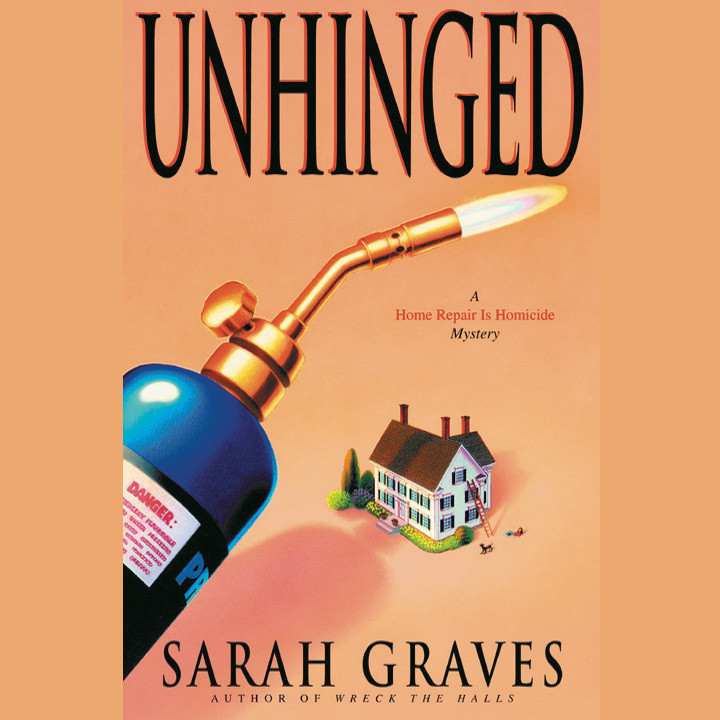 Printable Unhinged Audiobook Cover Art