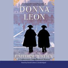 Uniform Justice Audiobook, by Donna Leon