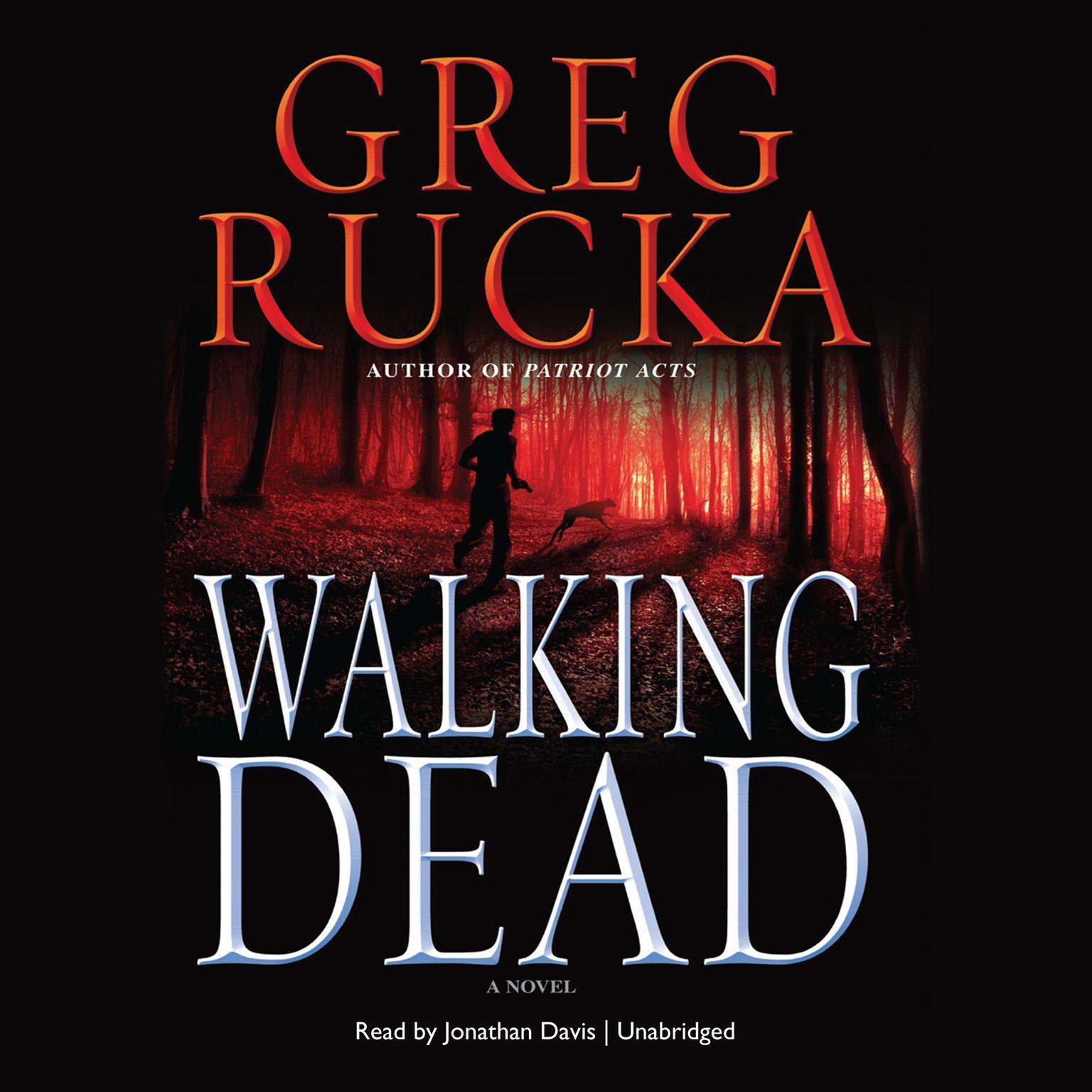 Printable Walking Dead Audiobook Cover Art