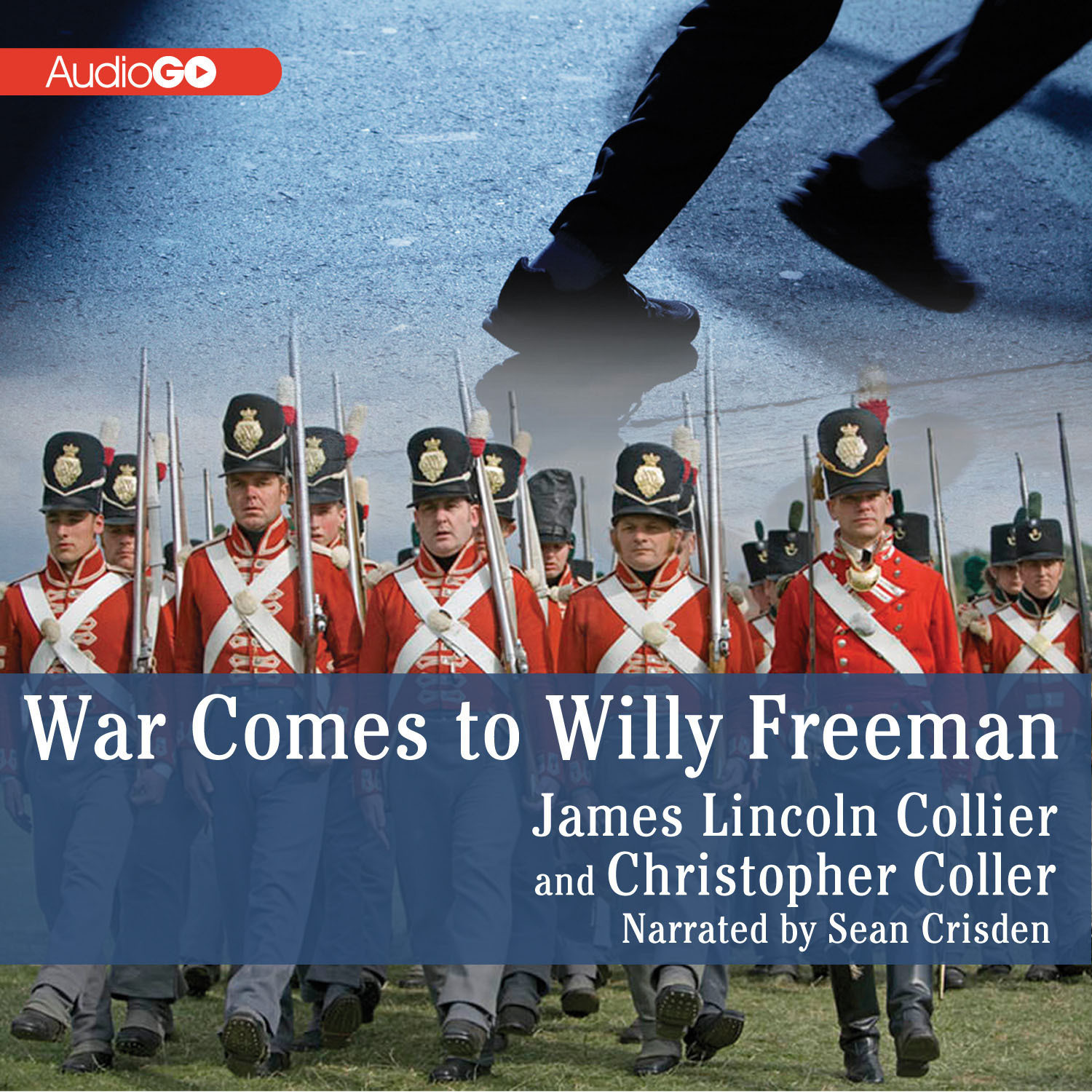 Printable War Comes to Willy Freeman Audiobook Cover Art