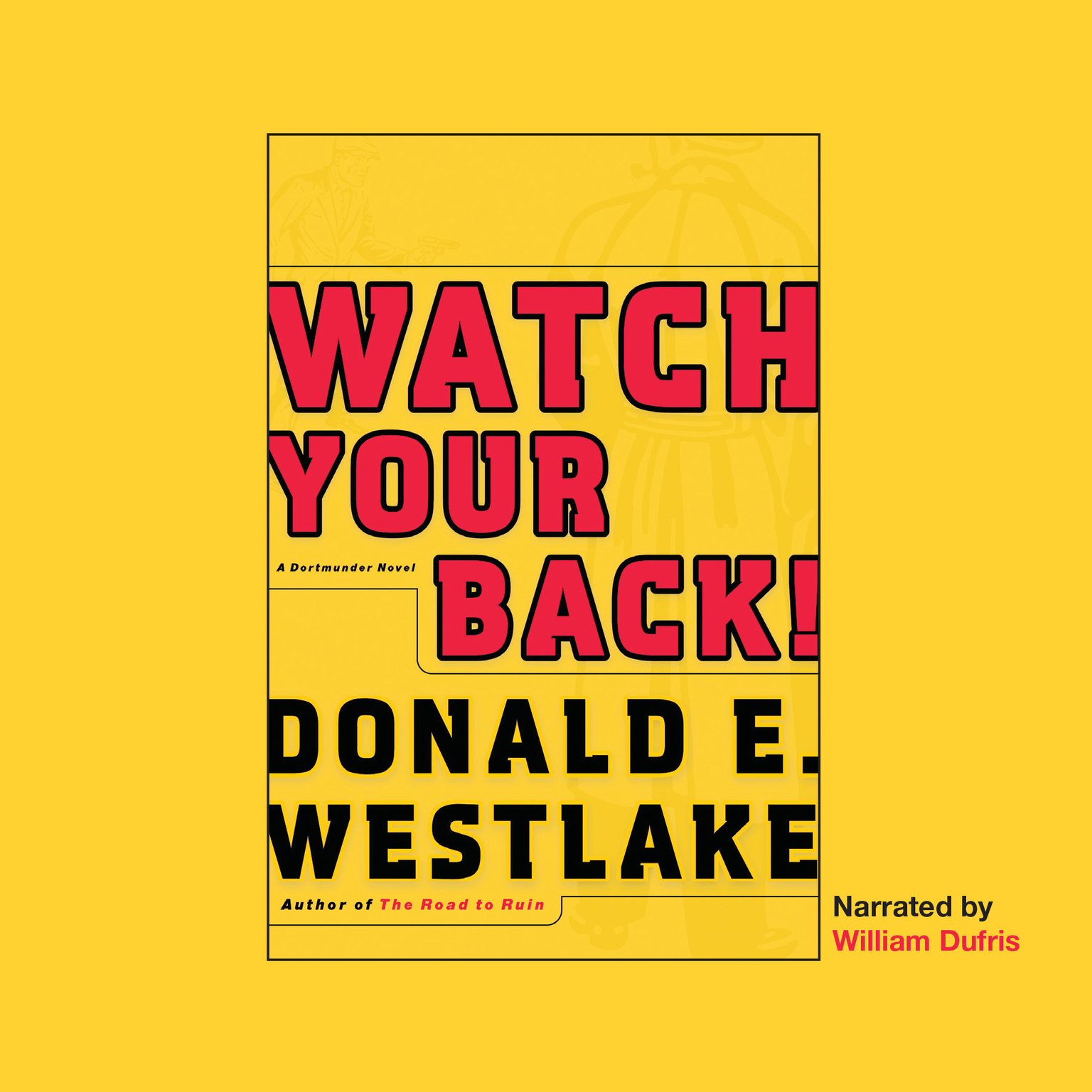 Printable Watch Your Back! Audiobook Cover Art