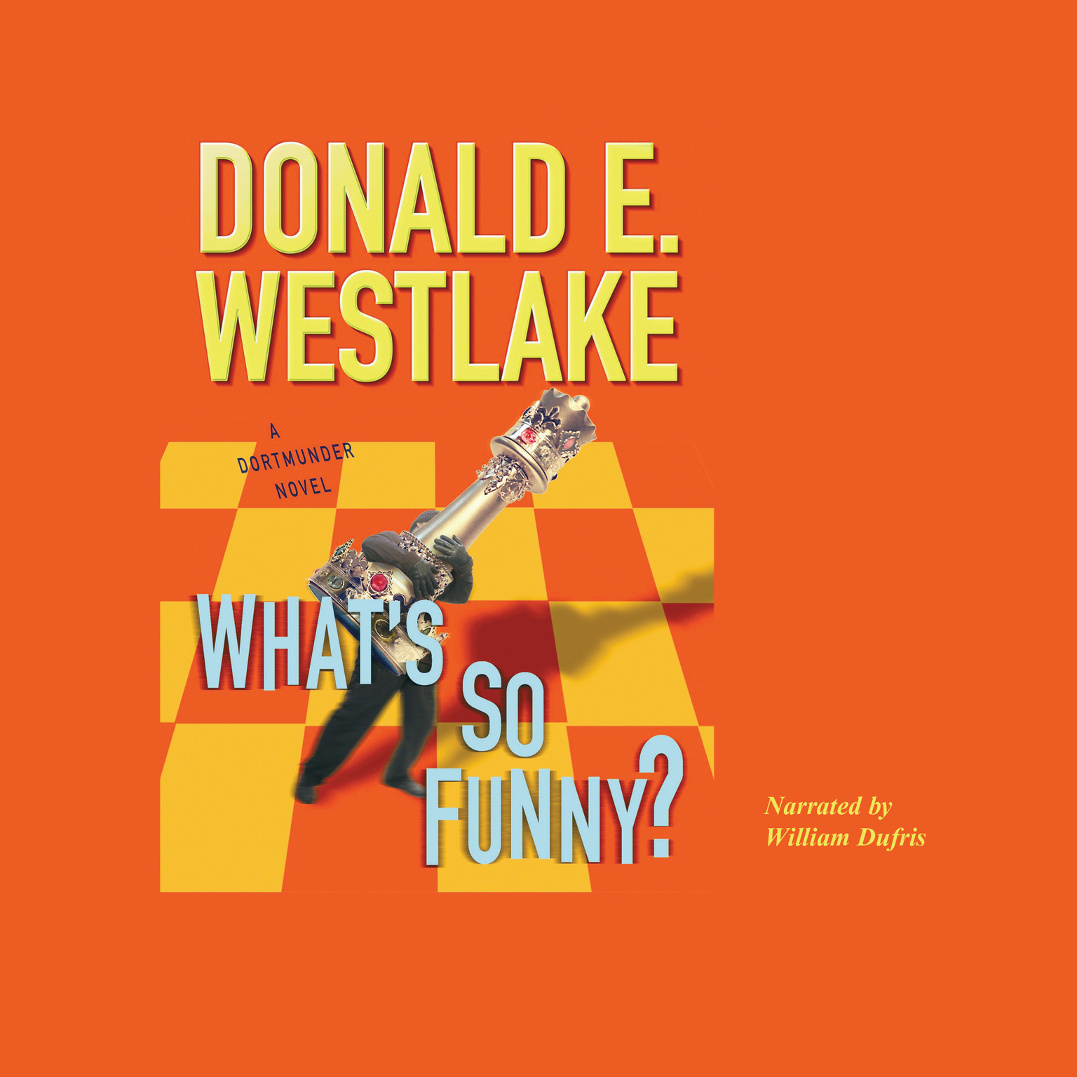 Printable What's So Funny? Audiobook Cover Art