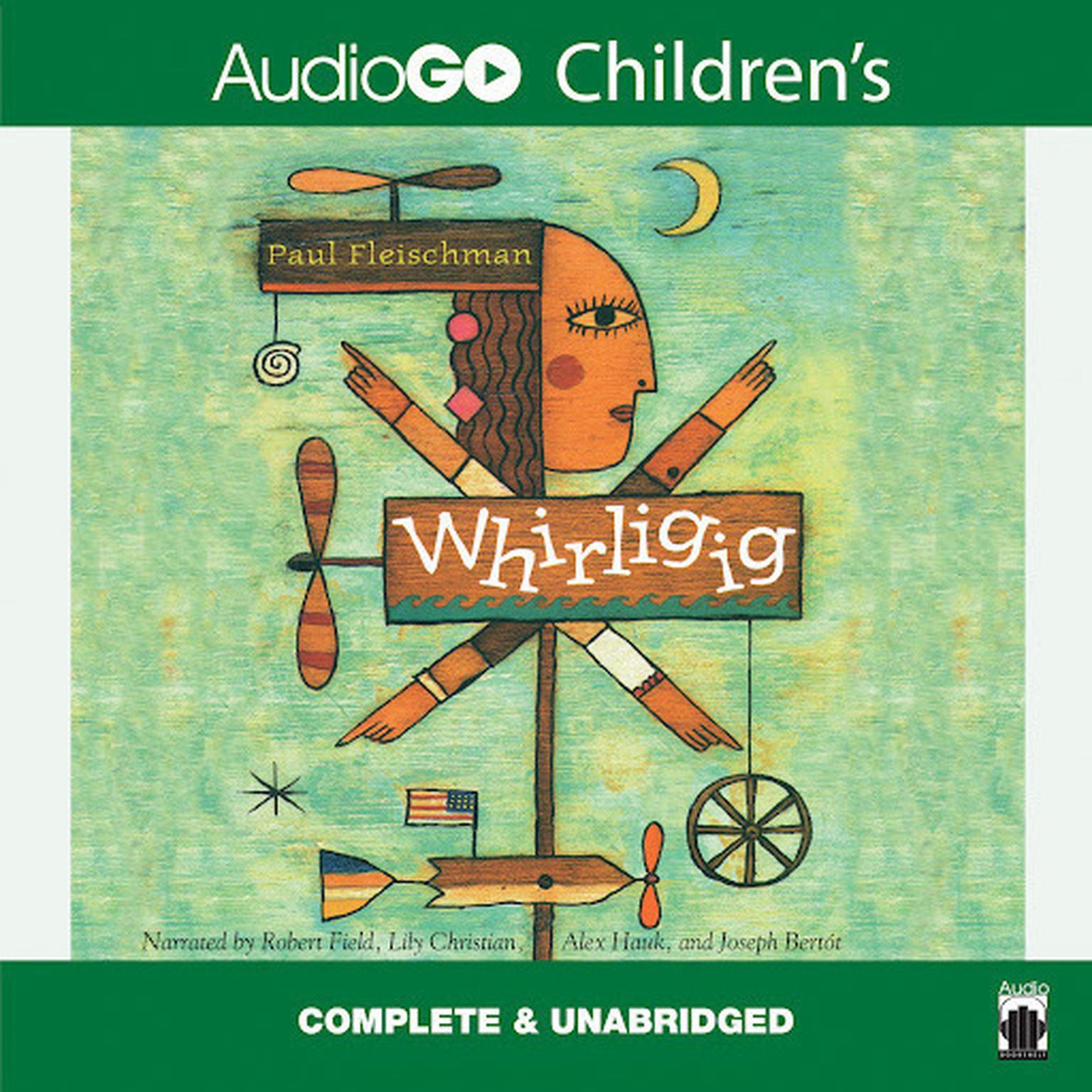 Printable Whirligig Audiobook Cover Art