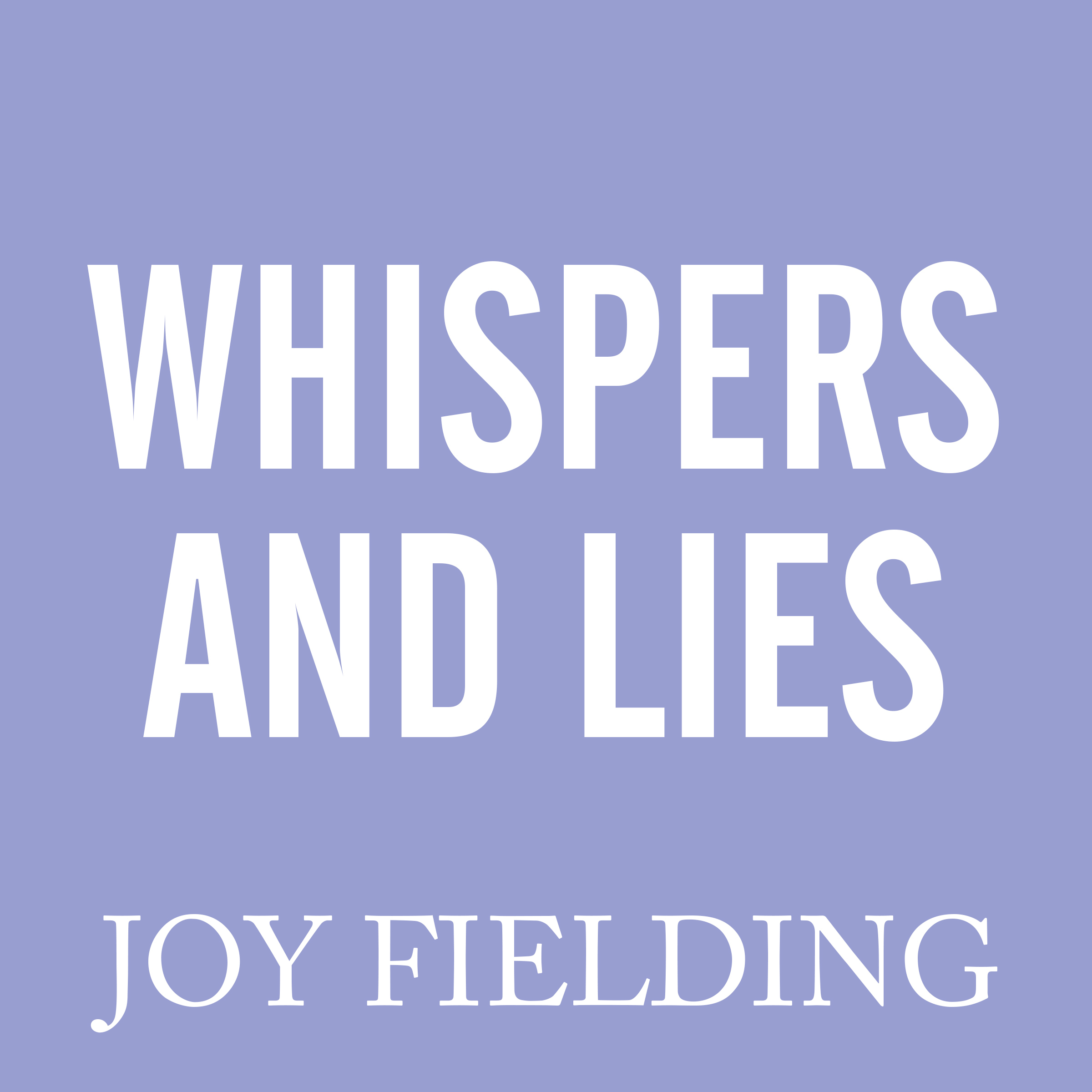 Printable Whispers and Lies Audiobook Cover Art