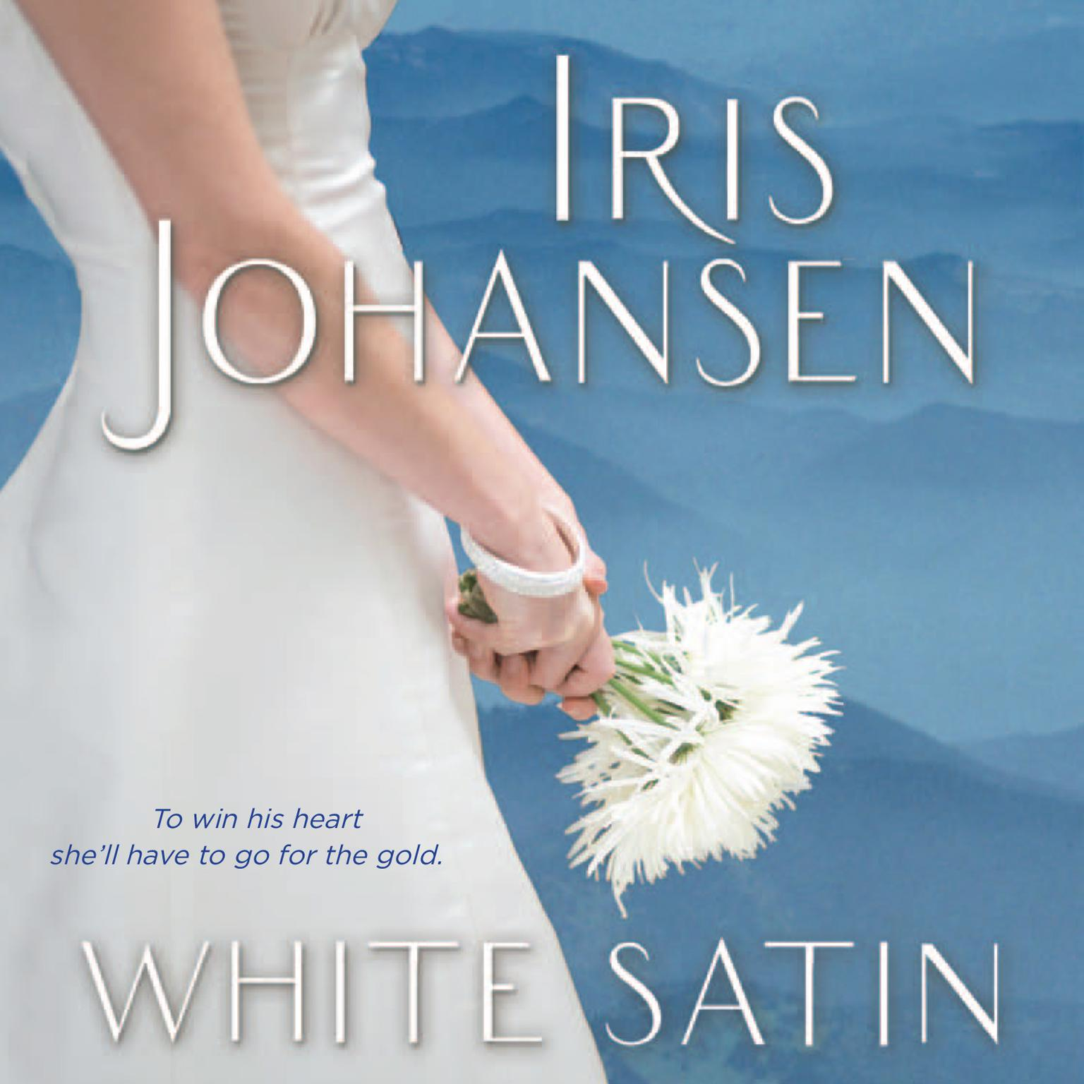 Printable White Satin Audiobook Cover Art