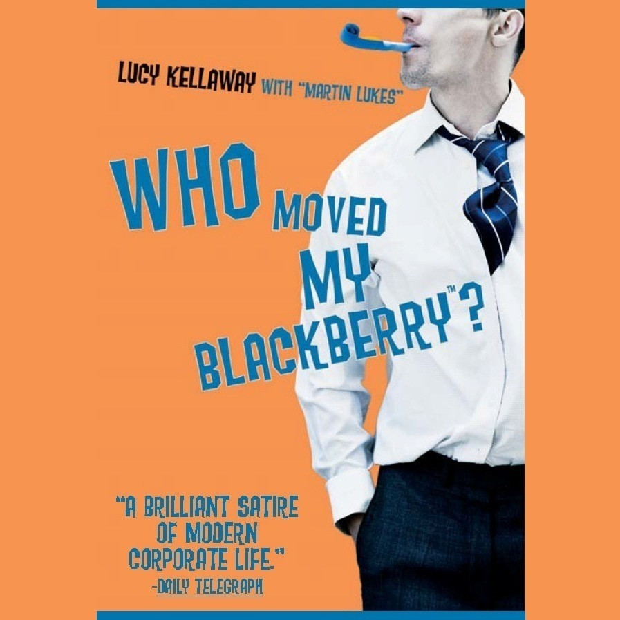 Printable Who Moved My BlackBerry? Audiobook Cover Art