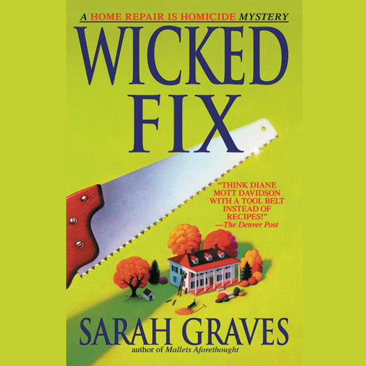 Printable Wicked Fix Audiobook Cover Art