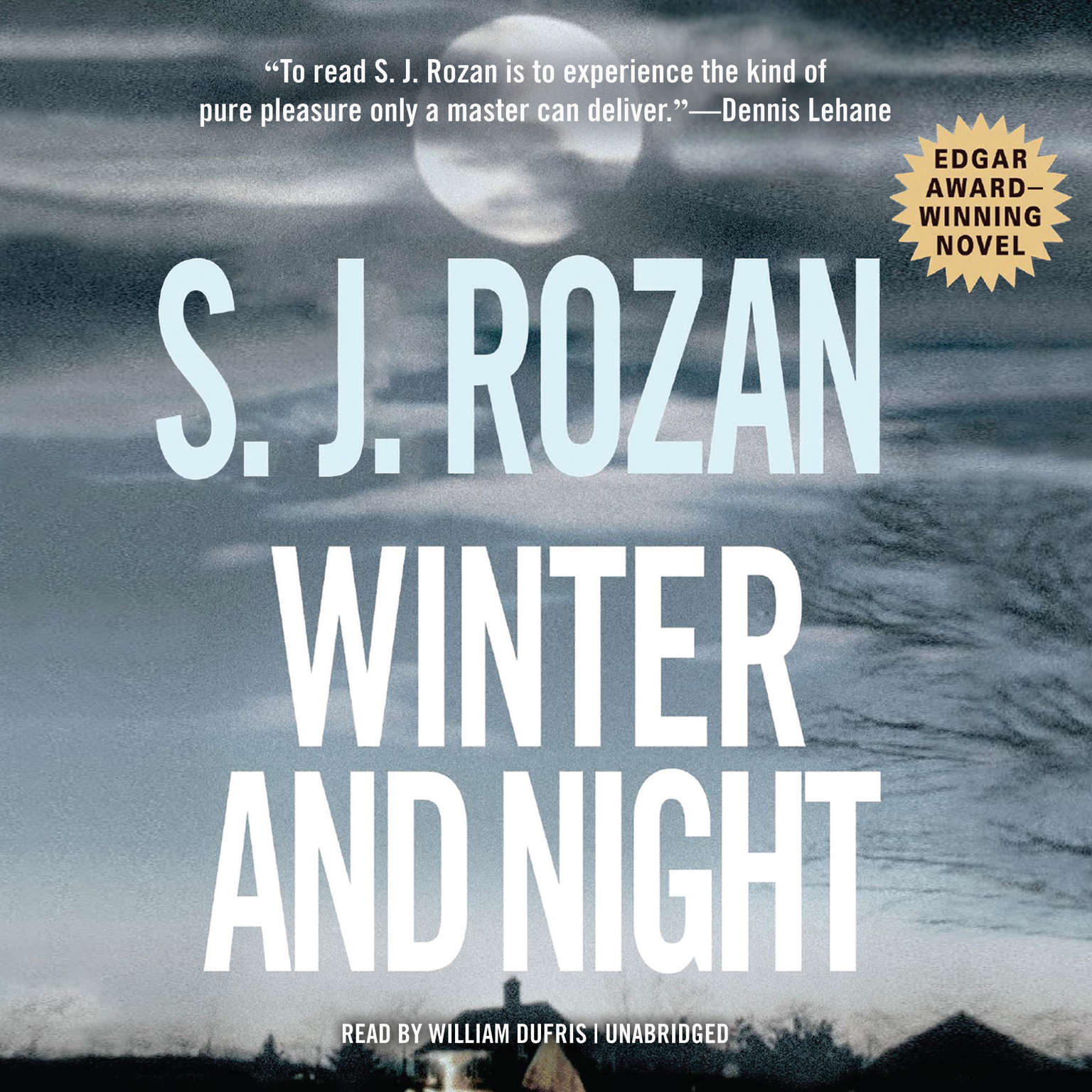Printable Winter and Night Audiobook Cover Art