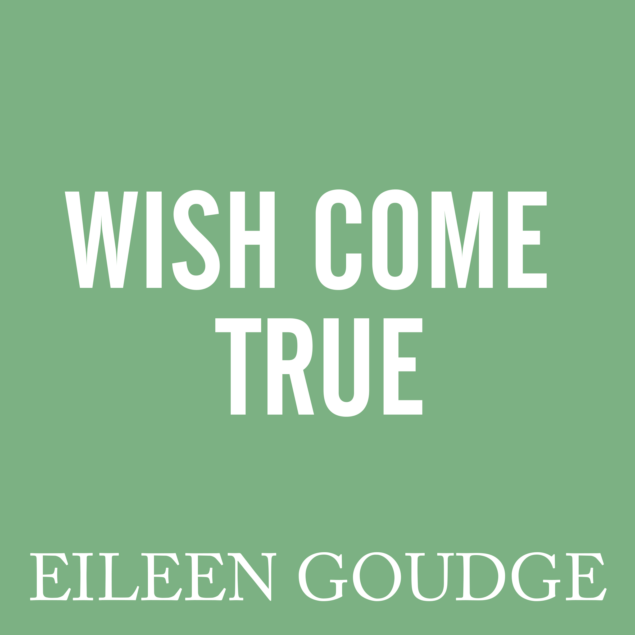 Printable Wish Come True Audiobook Cover Art