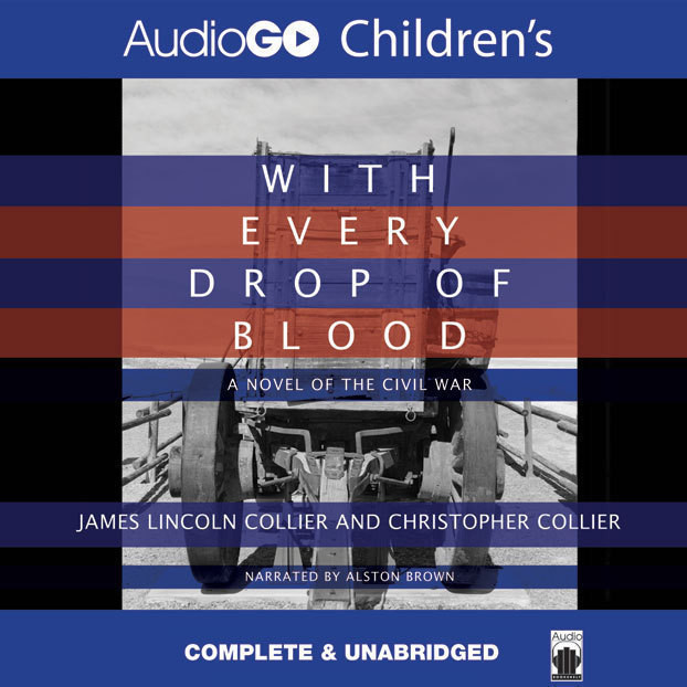 Printable With Every Drop of Blood Audiobook Cover Art