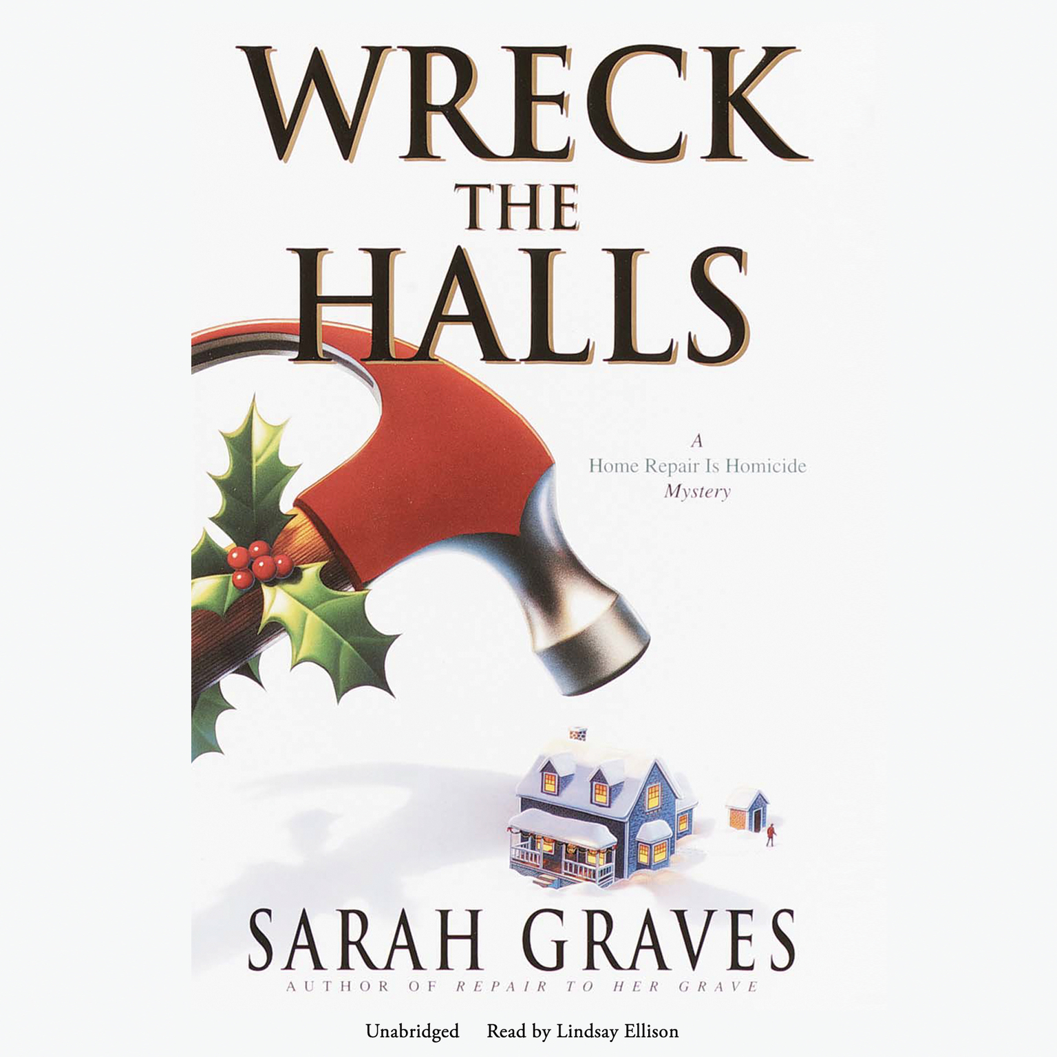 Printable Wreck the Halls Audiobook Cover Art