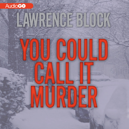Printable You Could Call It Murder Audiobook Cover Art