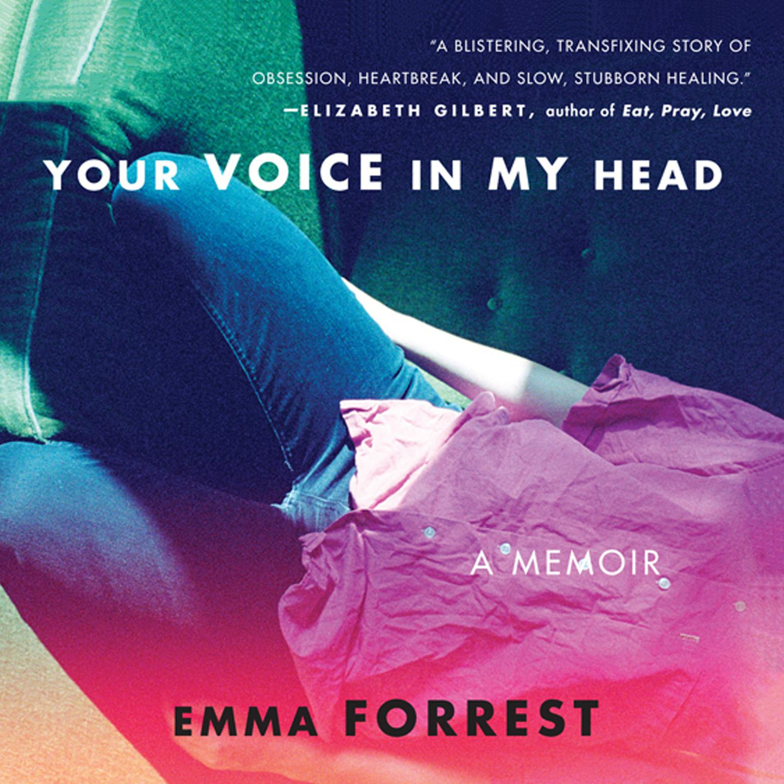 Printable Your Voice in My Head Audiobook Cover Art