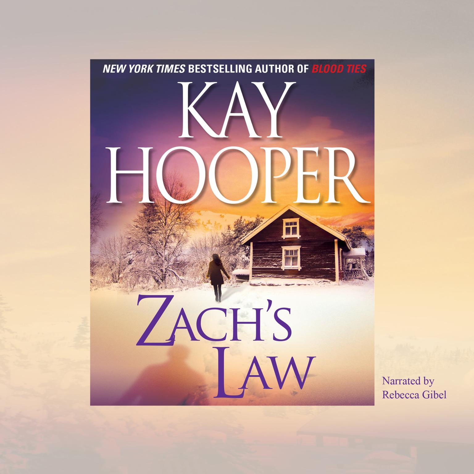 Printable Zach's Law Audiobook Cover Art