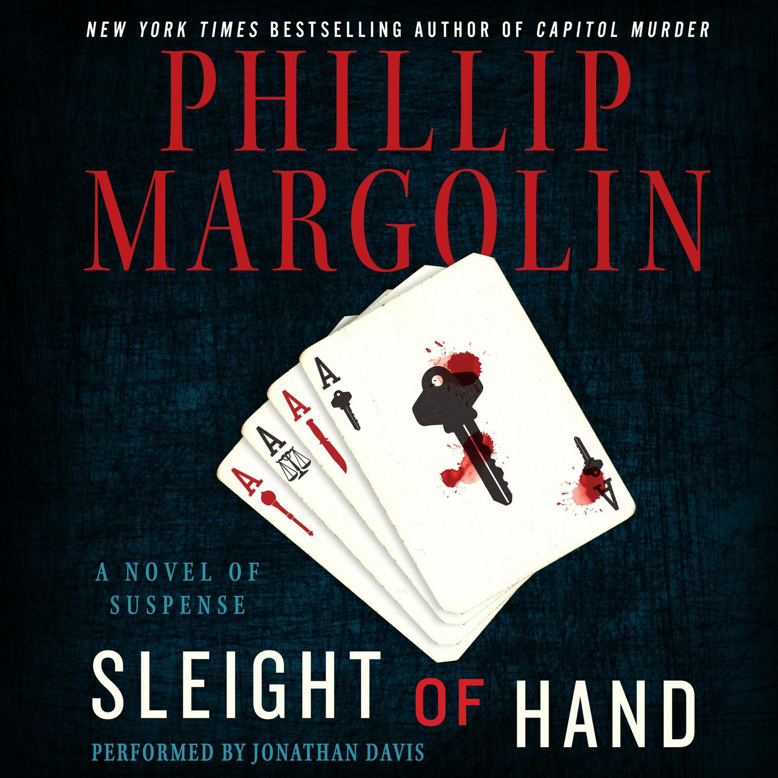 Printable Sleight of Hand: A Novel of Suspense Audiobook Cover Art