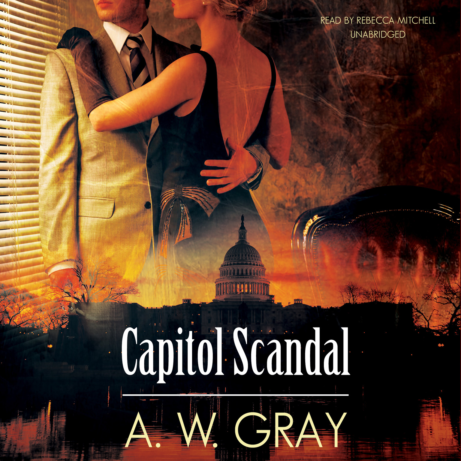 Printable Capitol Scandal Audiobook Cover Art