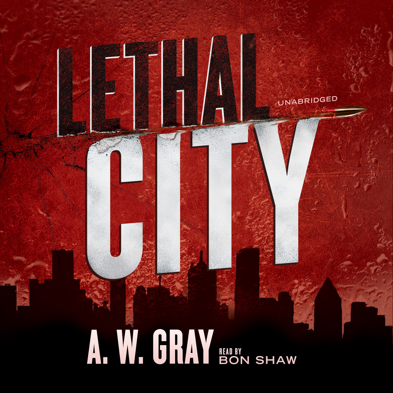 Printable Lethal City Audiobook Cover Art