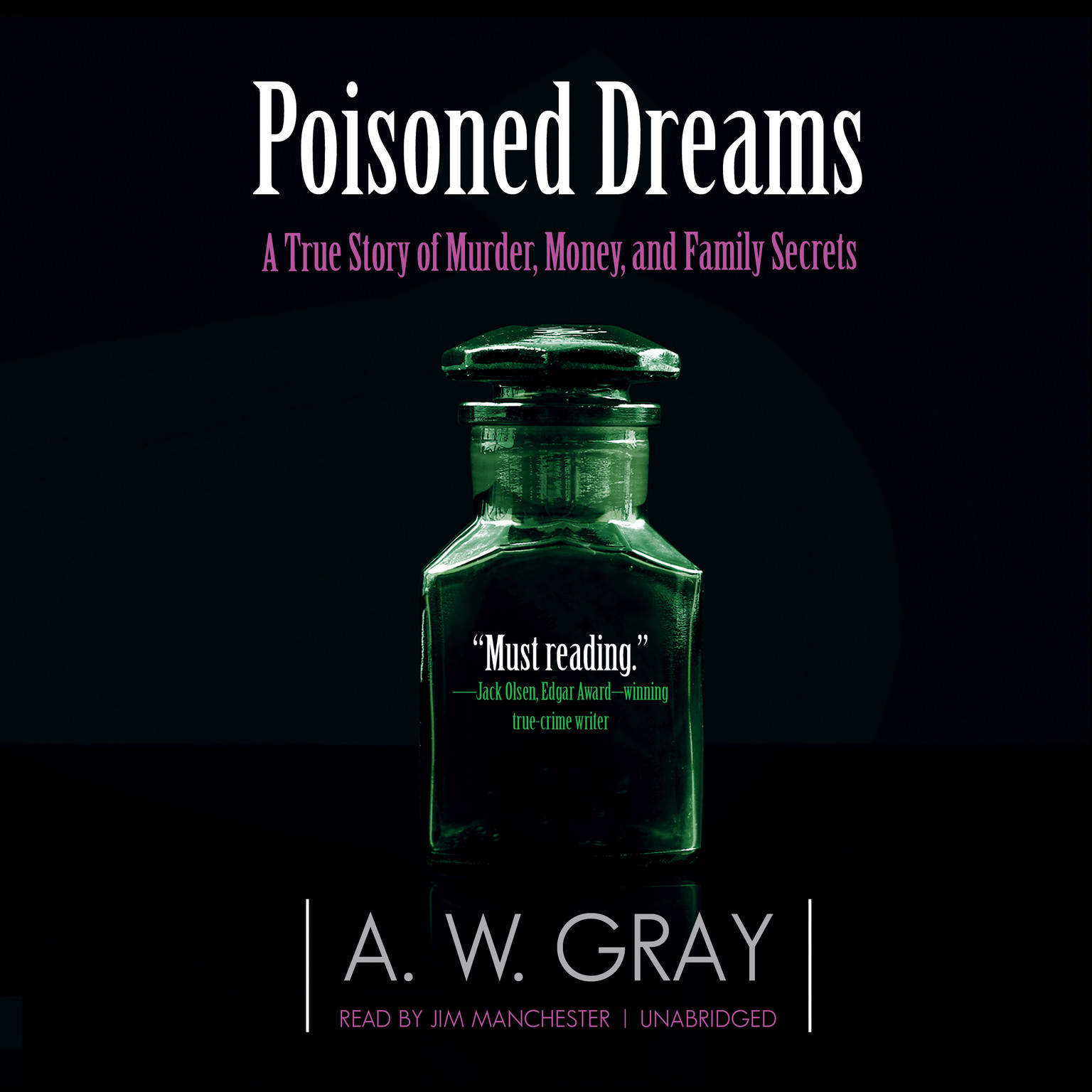 Printable Poisoned Dreams: A True Story of Murder, Money, and Family Secrets Audiobook Cover Art