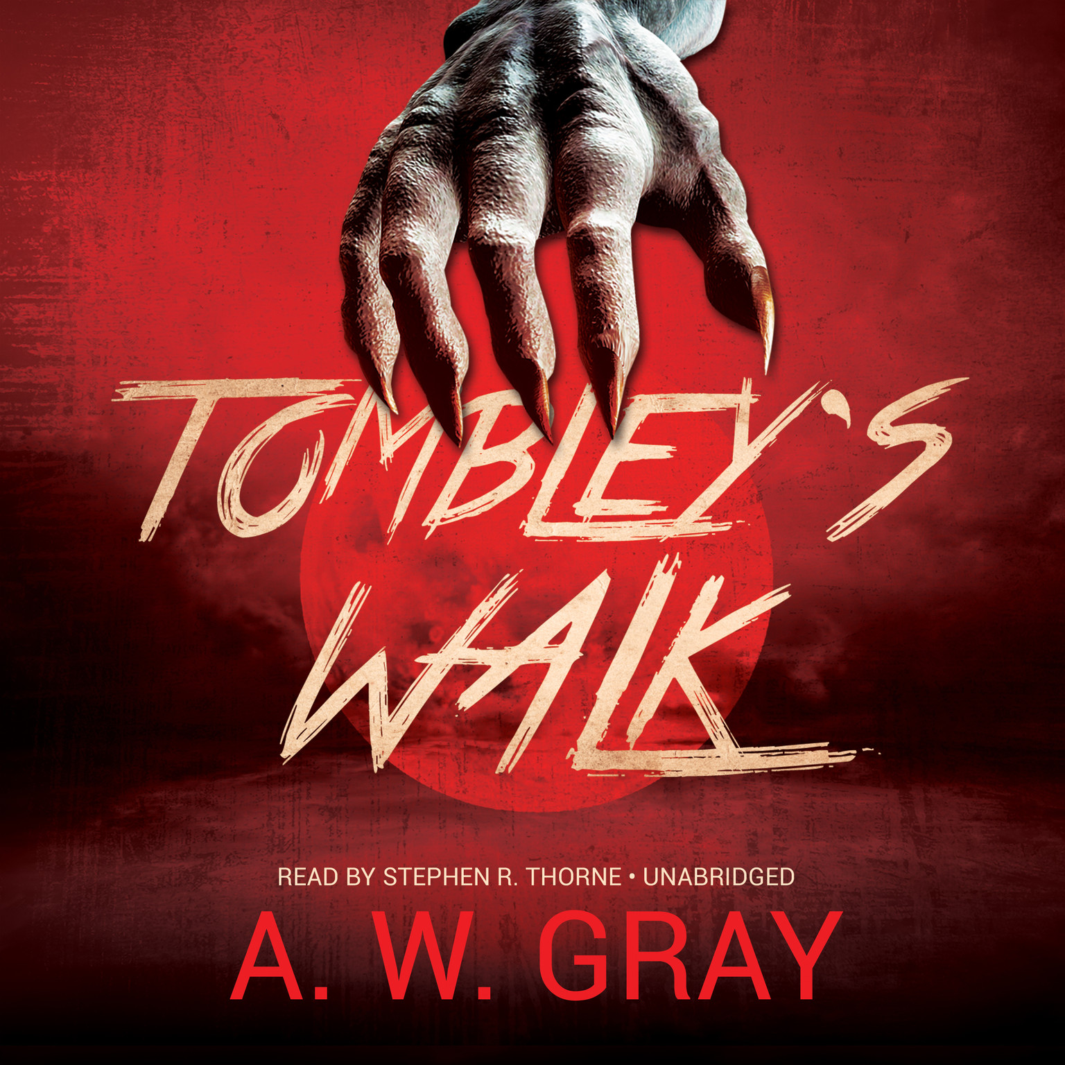 Printable Tombley's Walk Audiobook Cover Art