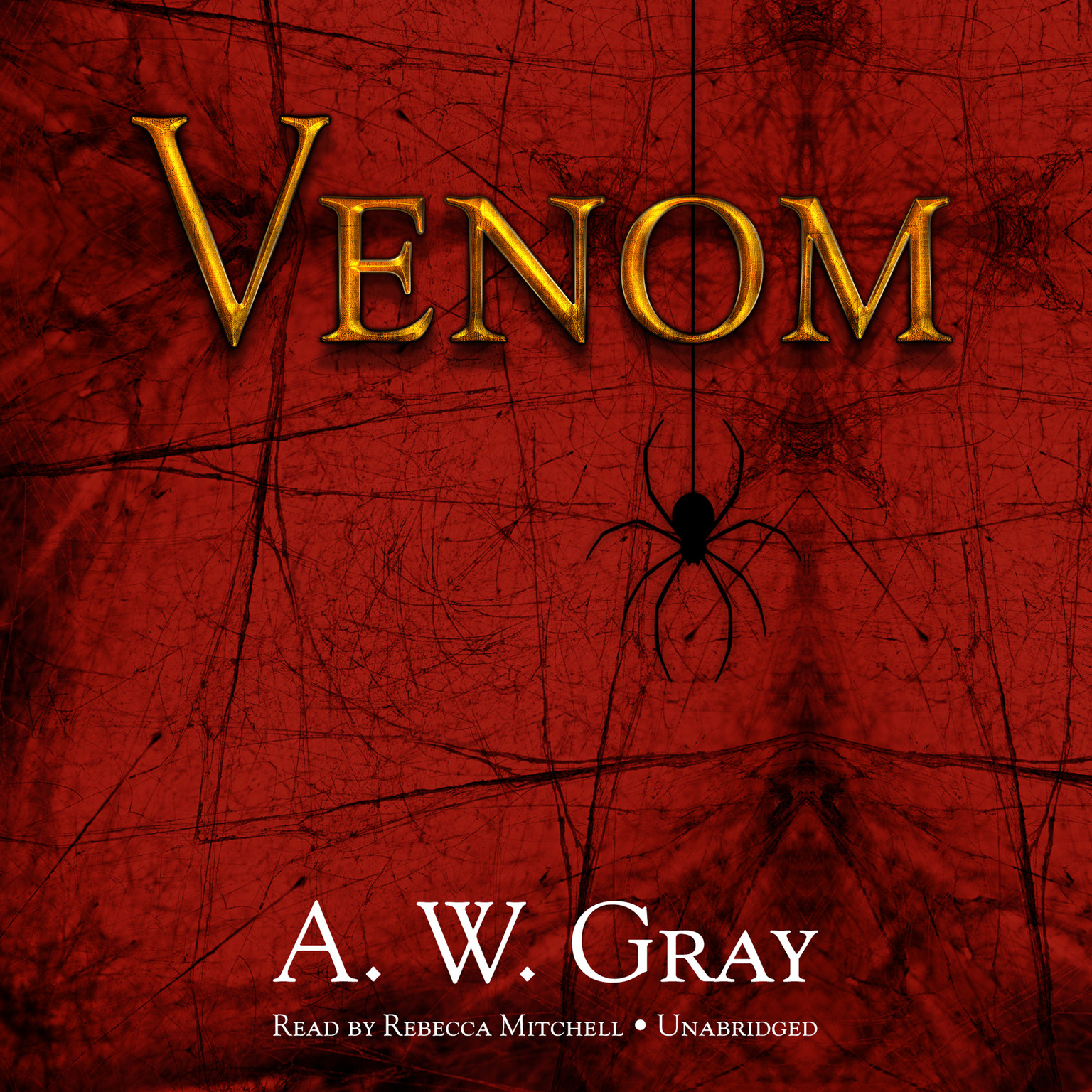 Printable Venom Audiobook Cover Art
