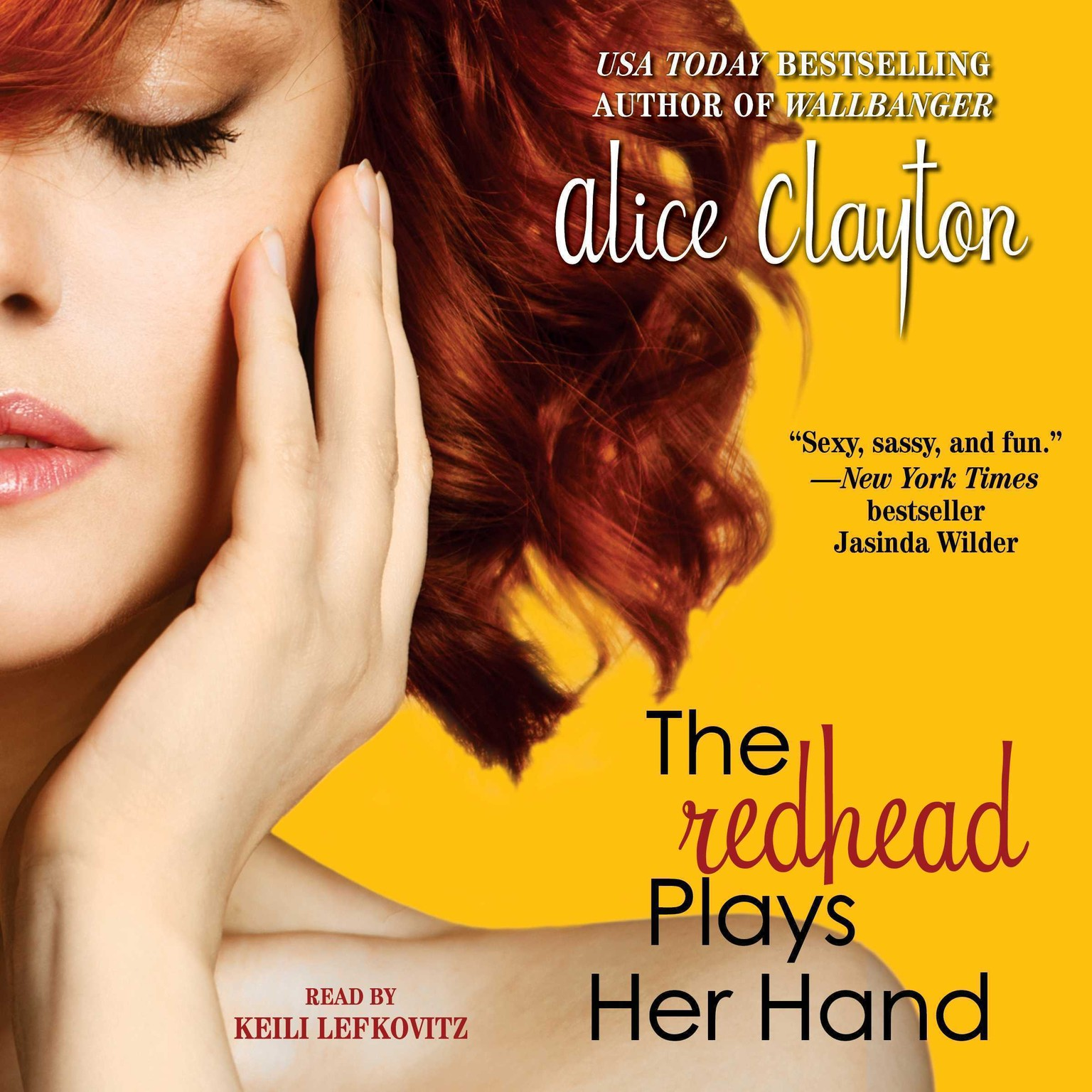 Printable The Redhead Plays Her Hand Audiobook Cover Art