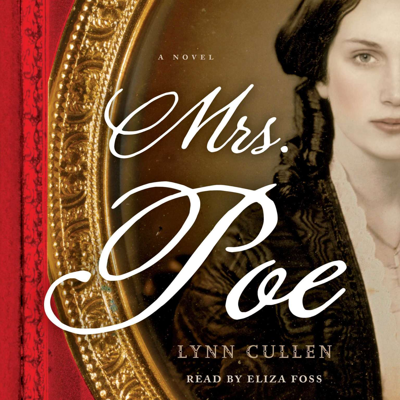 Printable Mrs. Poe Audiobook Cover Art