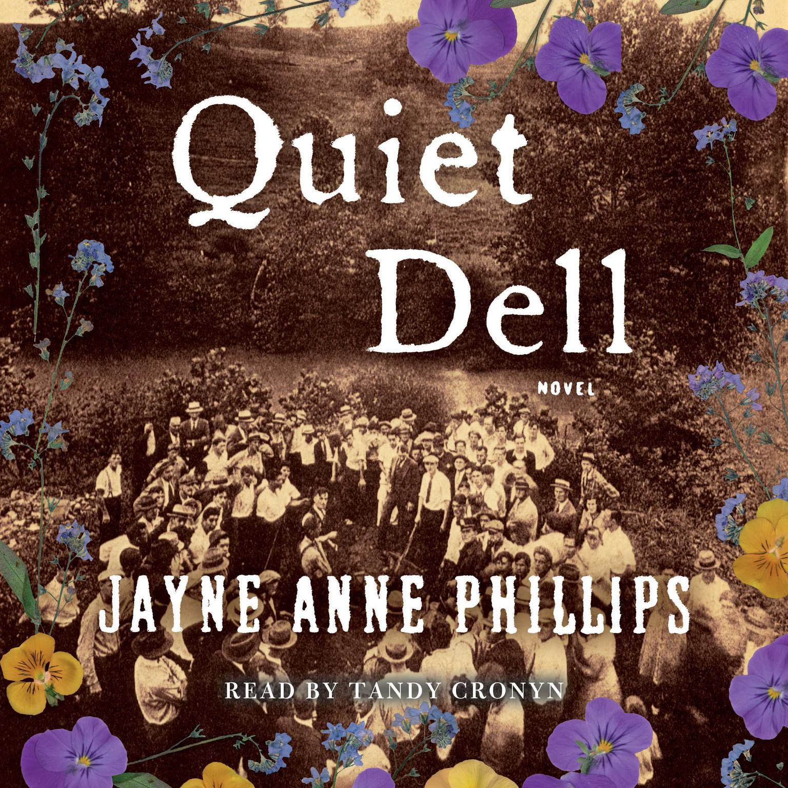Printable Quiet Dell: A Novel Audiobook Cover Art