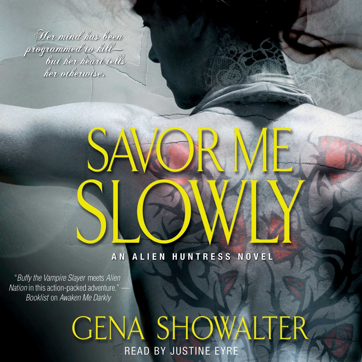 Printable Savor Me Slowly Audiobook Cover Art