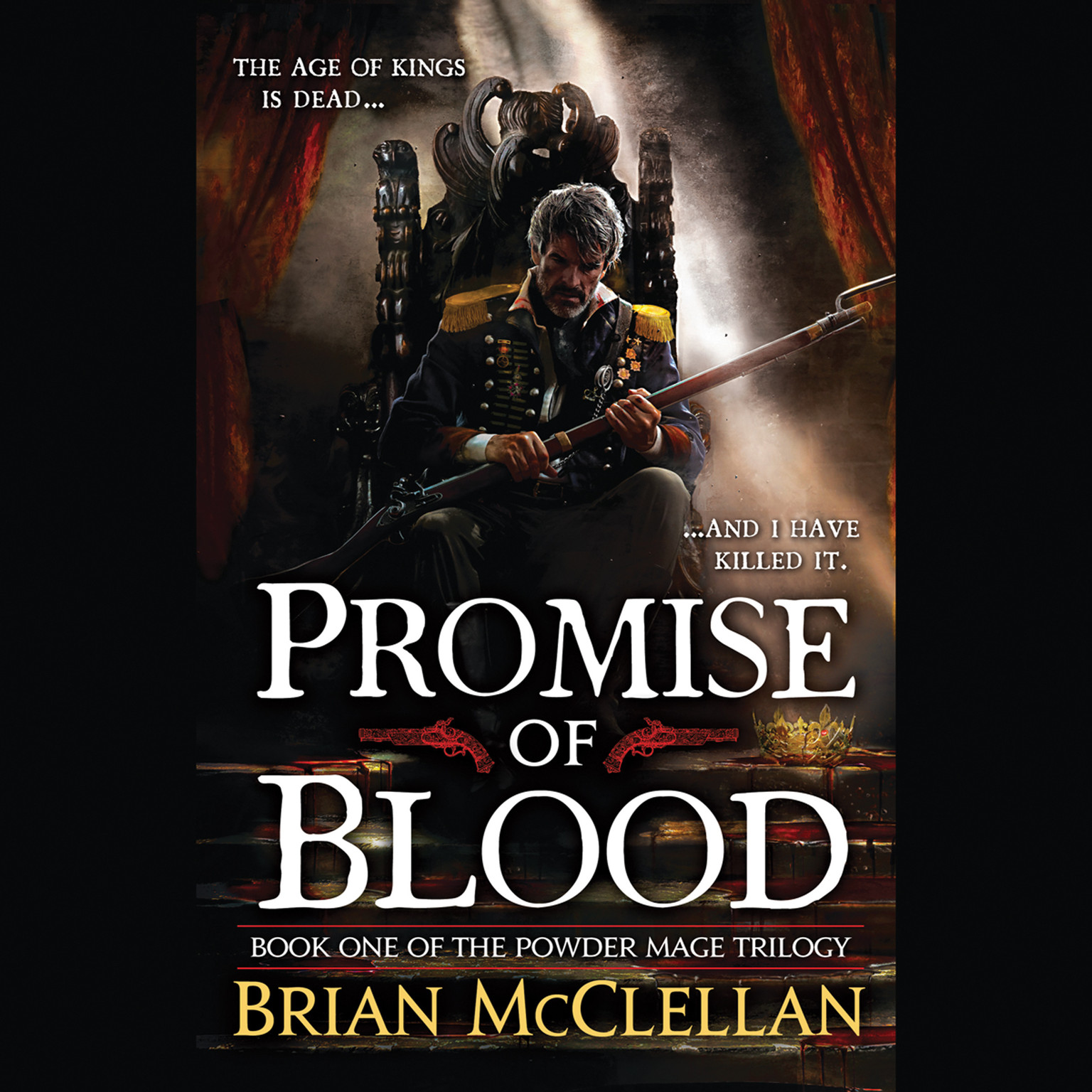Printable Promise of Blood Audiobook Cover Art