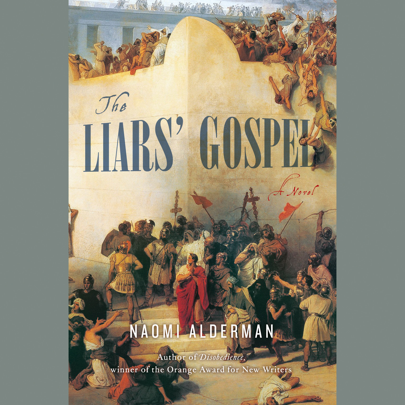 Printable The Liars' Gospel: A Novel Audiobook Cover Art