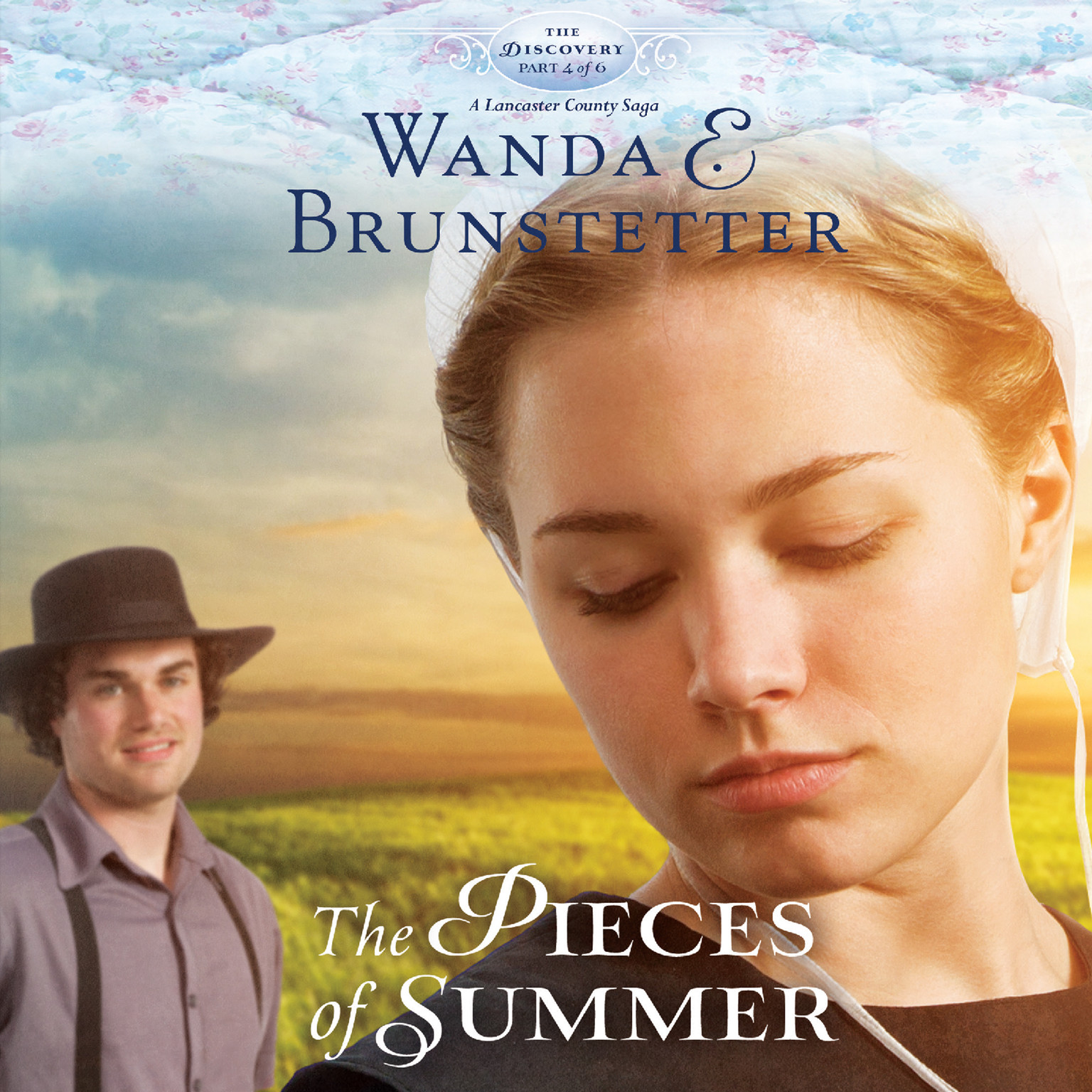 Printable The Pieces of Summer Audiobook Cover Art