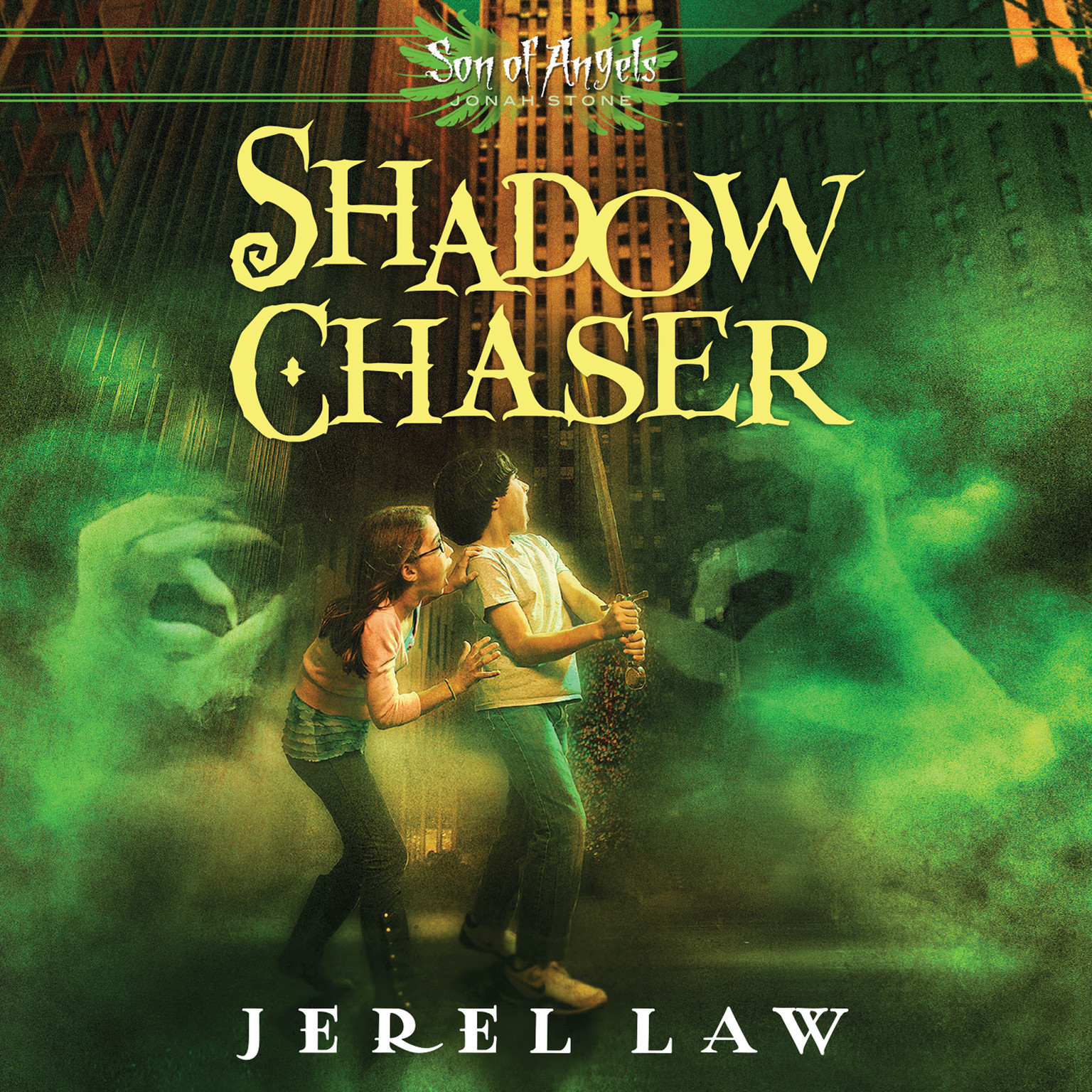 Printable Shadow Chaser Audiobook Cover Art