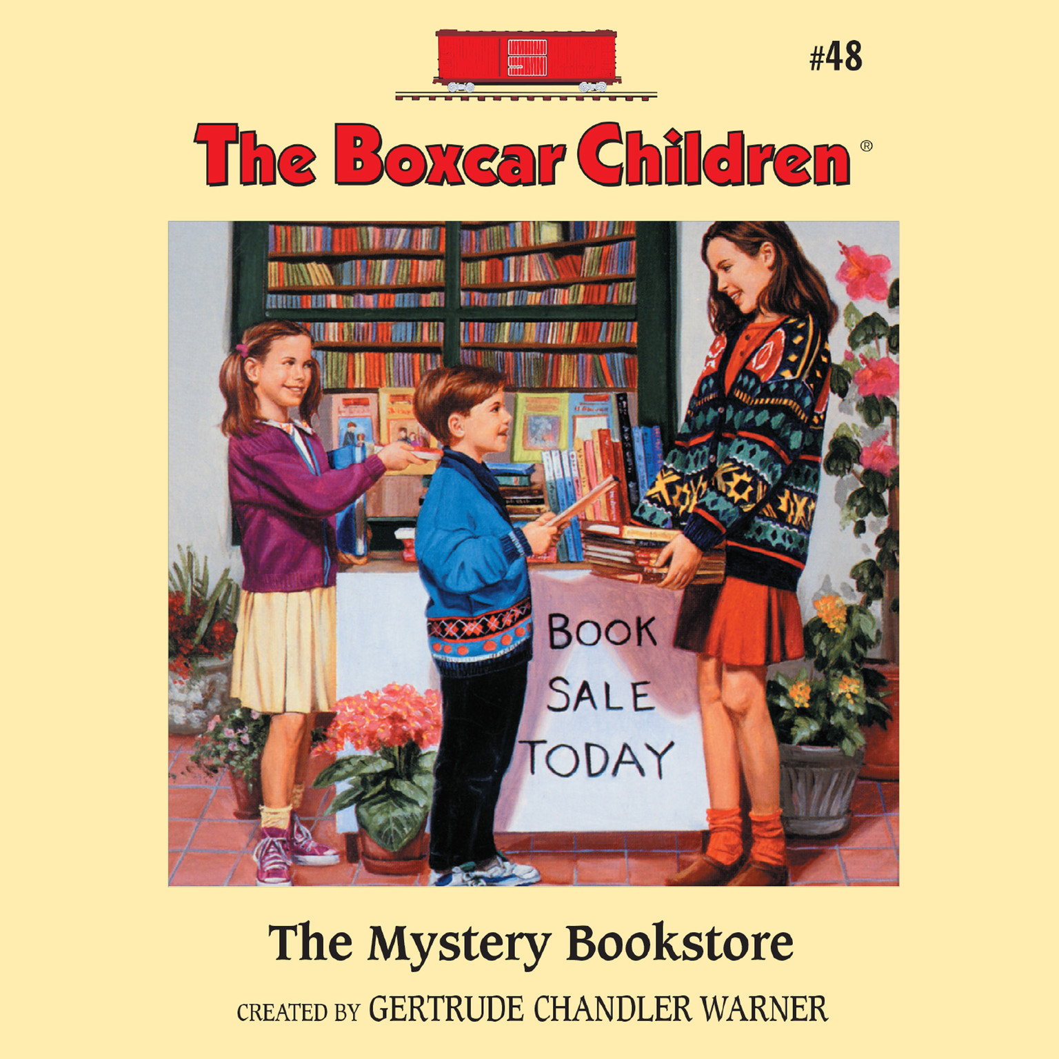 Printable The Mystery Bookstore Audiobook Cover Art