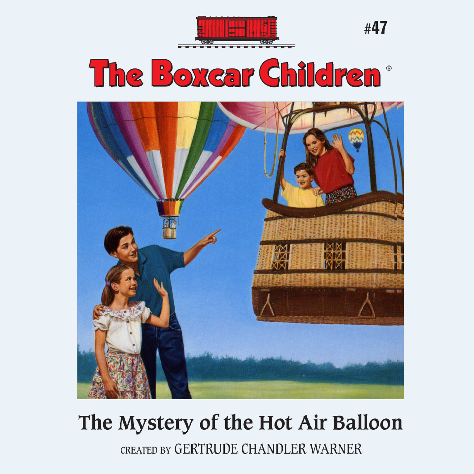 Printable The Mystery of the Hot Air Balloon Audiobook Cover Art