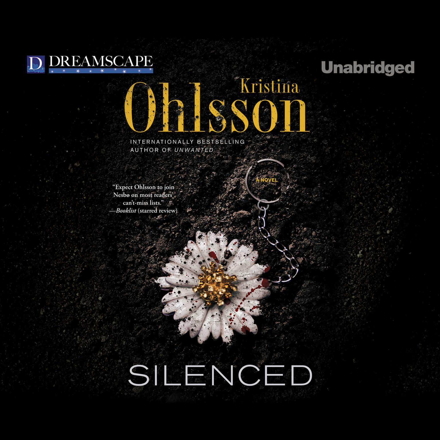 Printable Silenced Audiobook Cover Art