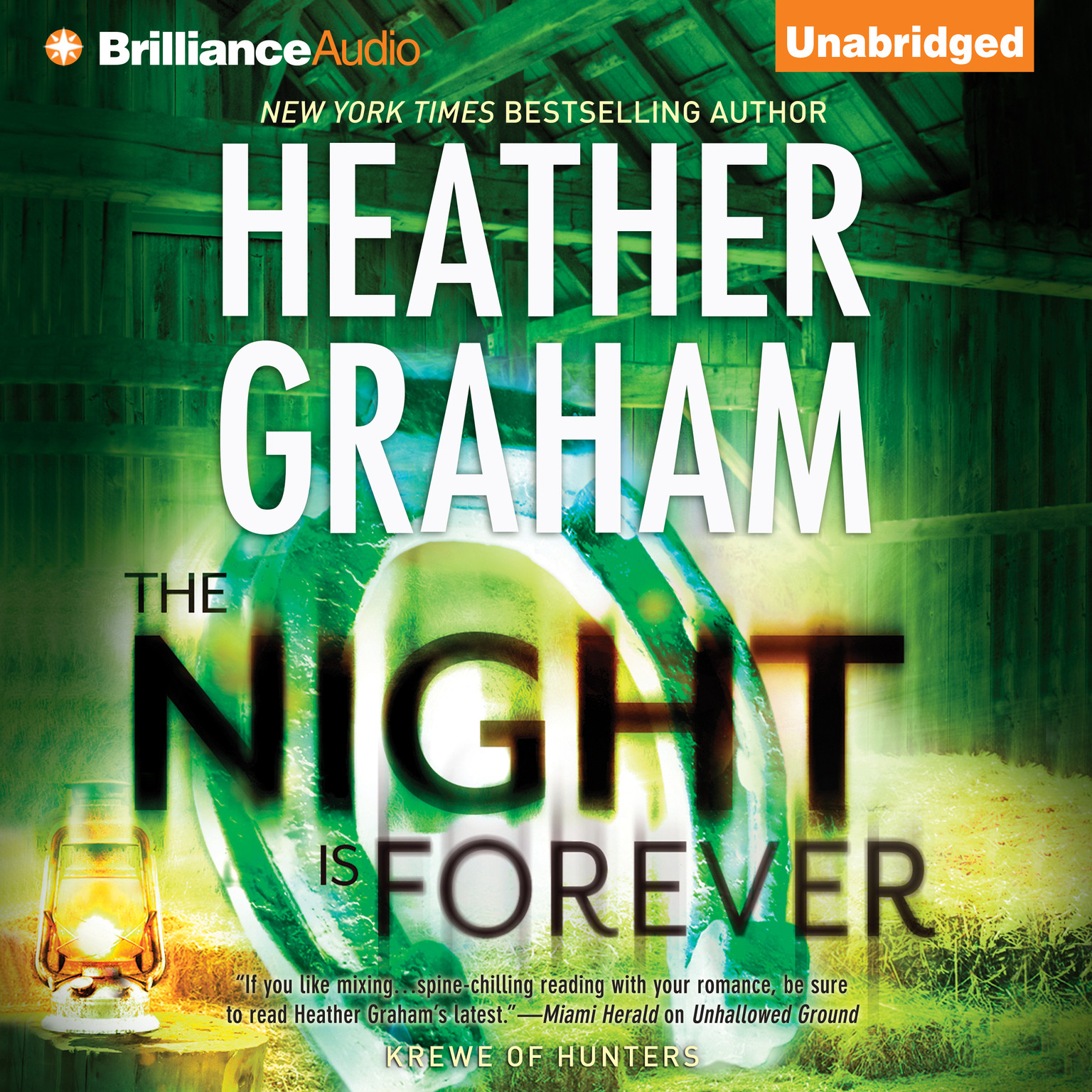 Printable The Night Is Forever Audiobook Cover Art