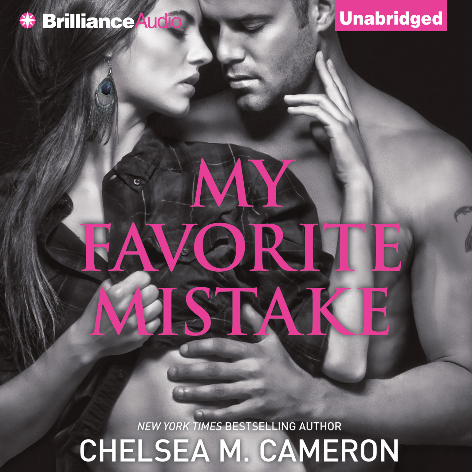 Printable My Favorite Mistake Audiobook Cover Art