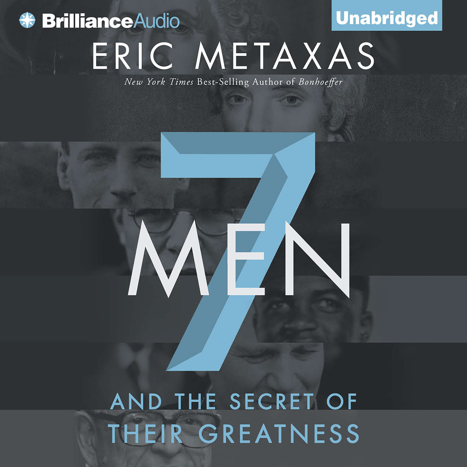 Printable Seven Men: And the Secret of Their Greatness Audiobook Cover Art