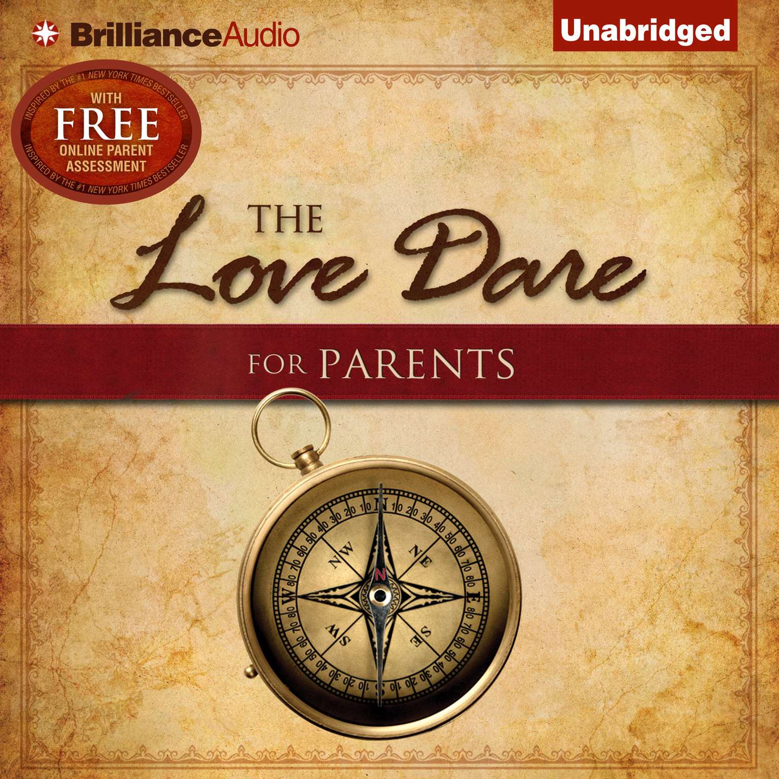 Printable The Love Dare for Parents Audiobook Cover Art