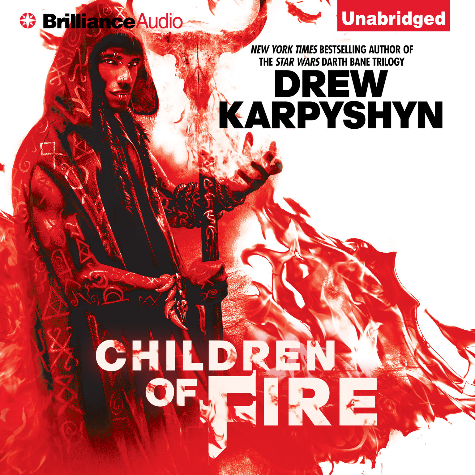Printable Children of Fire Audiobook Cover Art