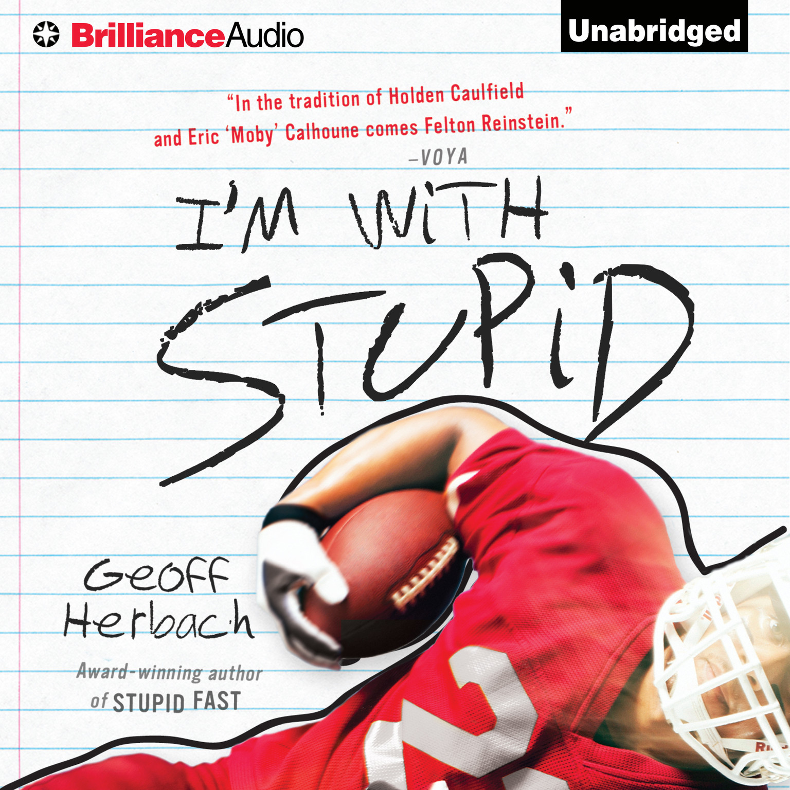 Printable I'm With Stupid Audiobook Cover Art
