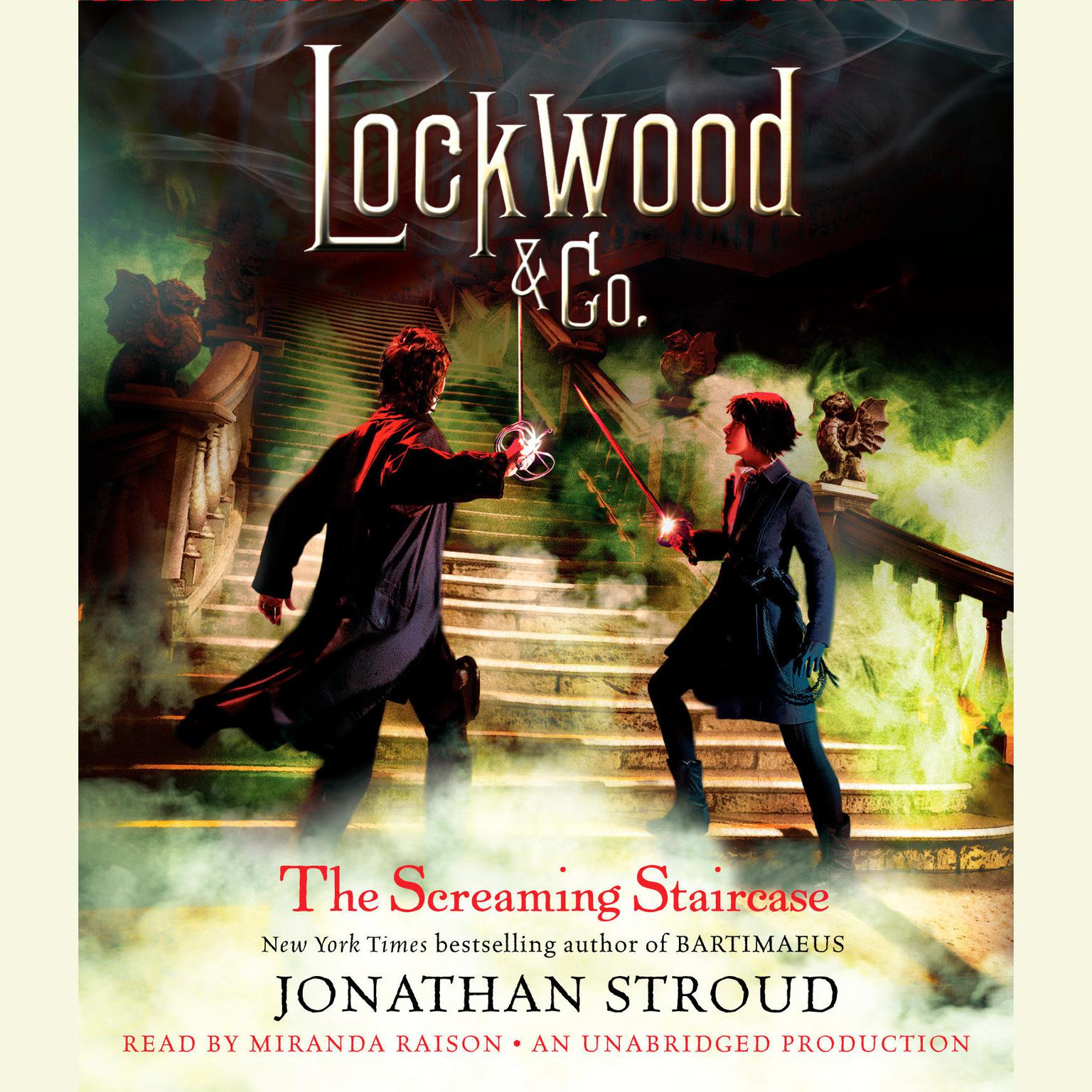 Printable The Screaming Staircase: Lockwood & Co. Book 1 Audiobook Cover Art