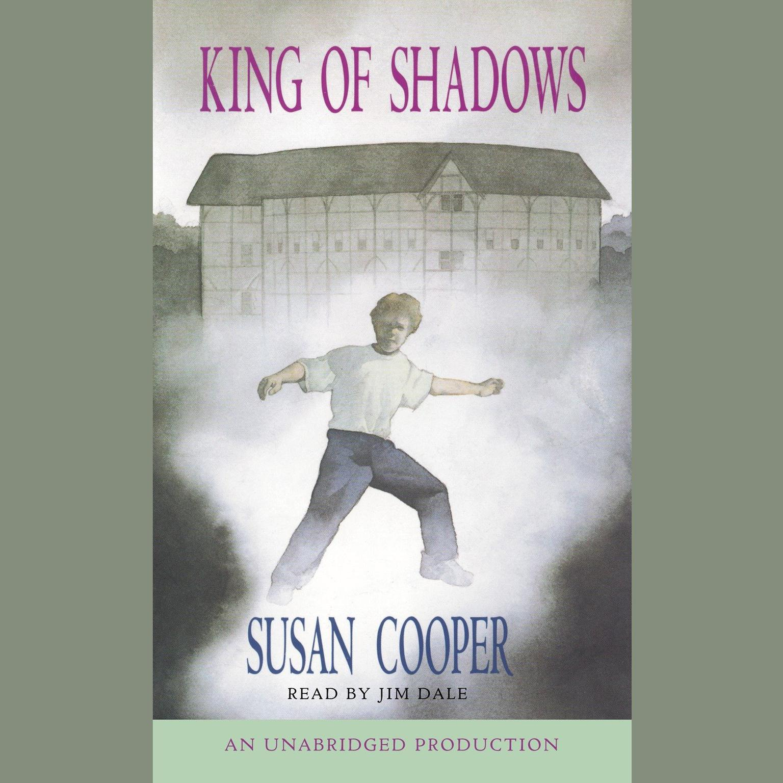 Printable King of Shadows Audiobook Cover Art