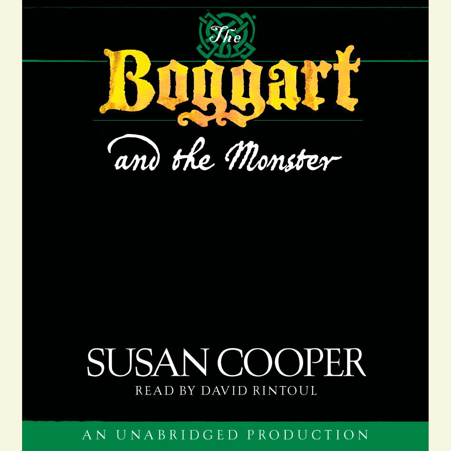 Printable The Boggart and the Monster Audiobook Cover Art
