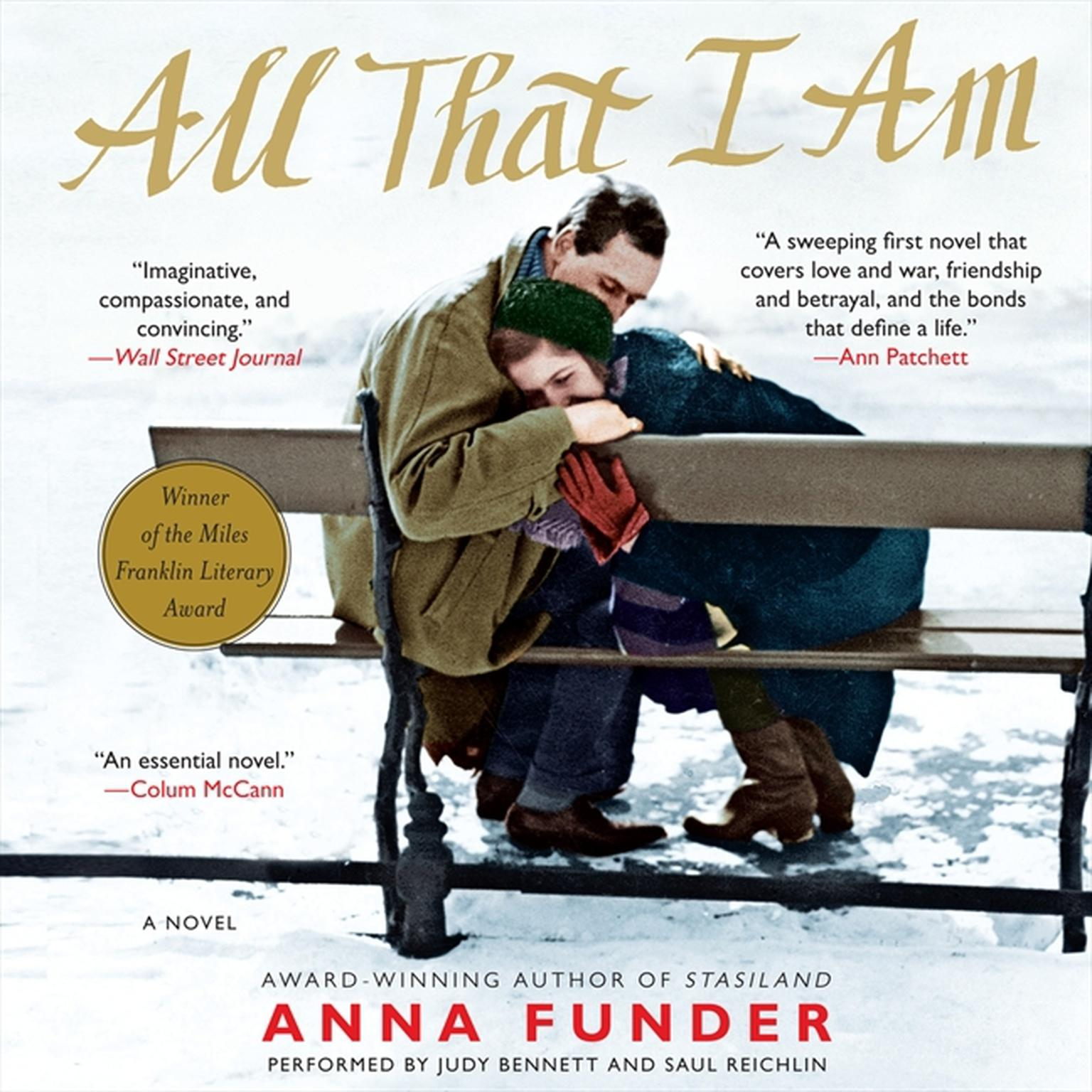 Printable All That I Am: A Novel Audiobook Cover Art