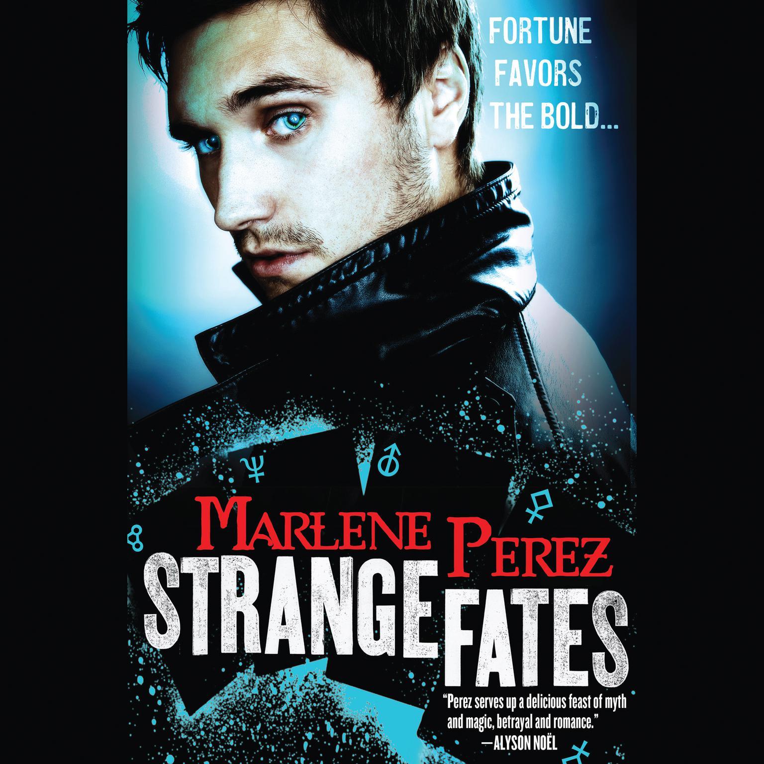 Printable Strange Fates Audiobook Cover Art