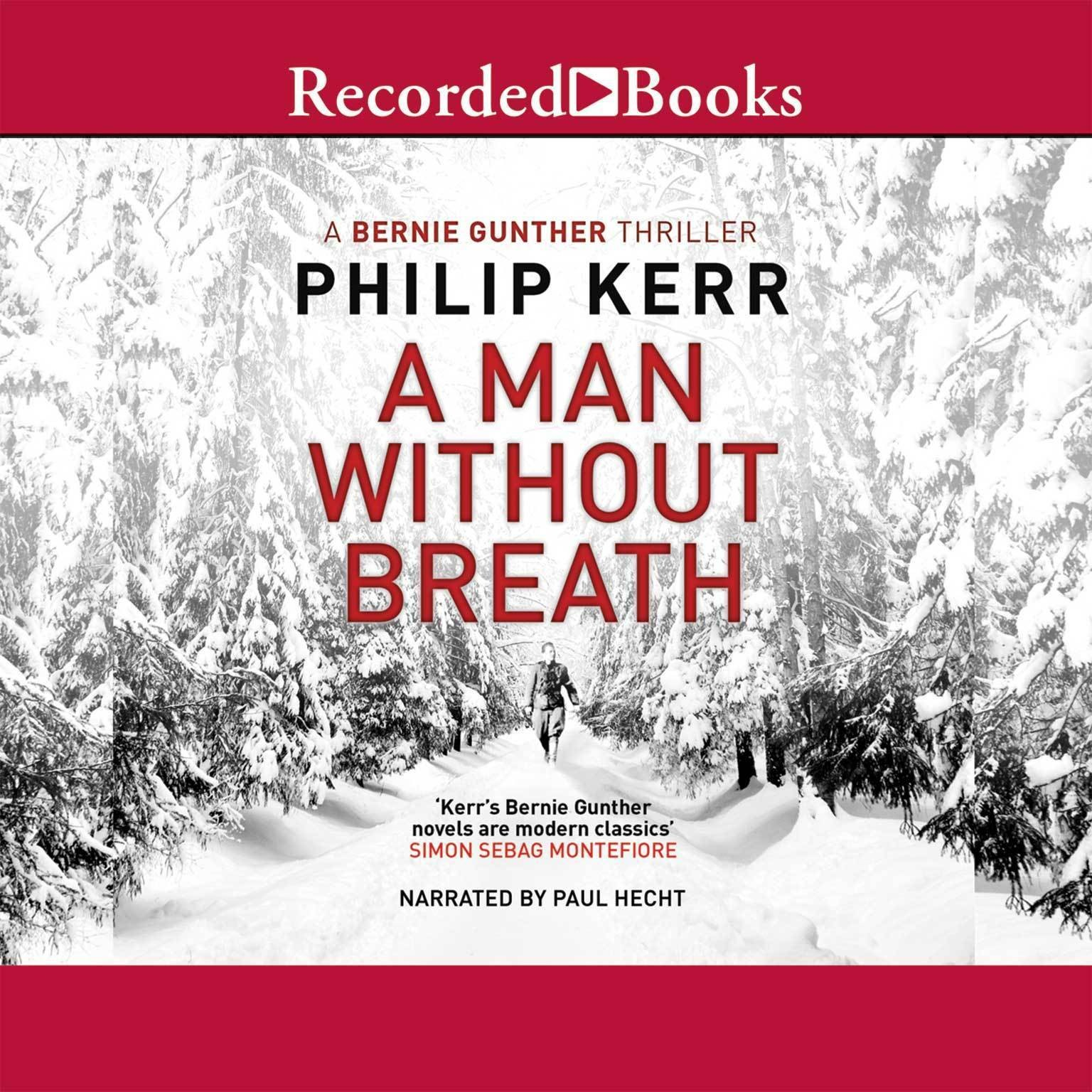 Printable A Man without Breath Audiobook Cover Art